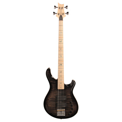 PRS Paul Reed Smith Grainger 10 Top Electric Bass (with Case), Charcoal Burst