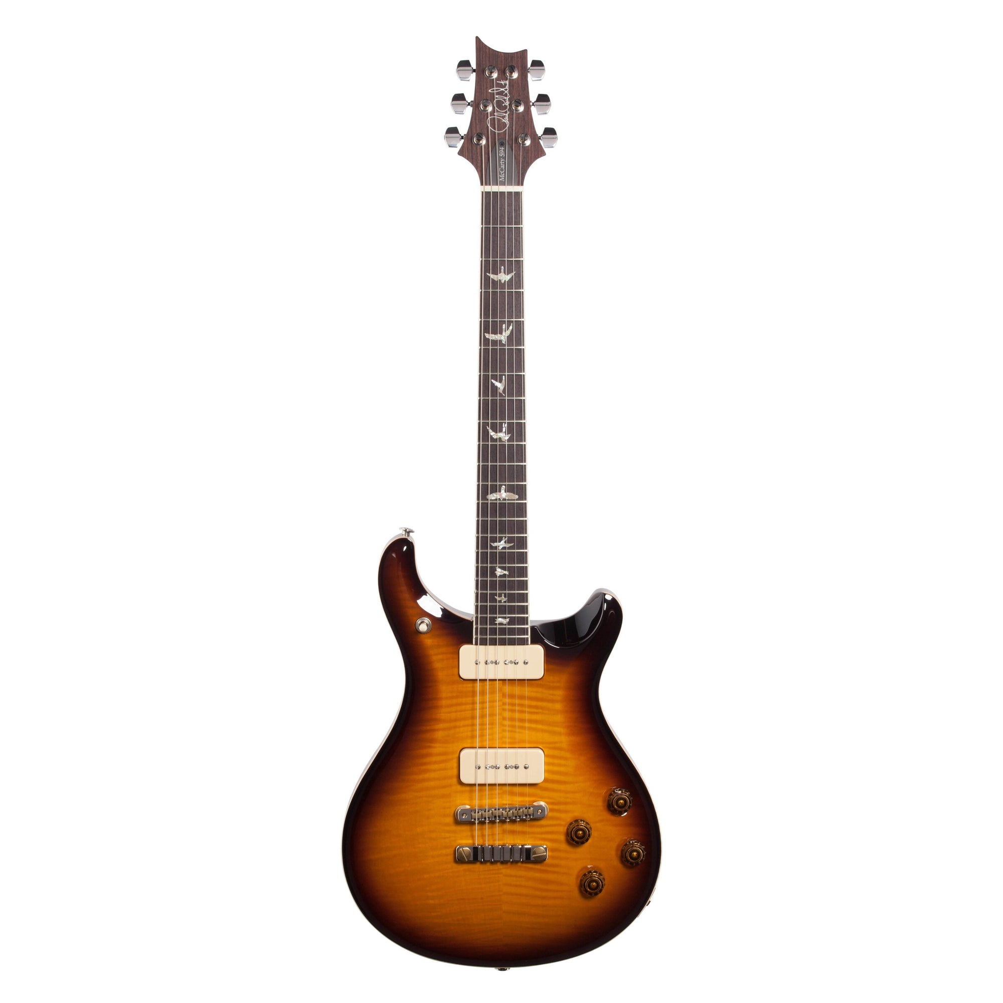 PRS Paul Reed Smith McCarty 594 10-Top Soapbar Electric Guitar (with Case), McCarty Tobacco Burst