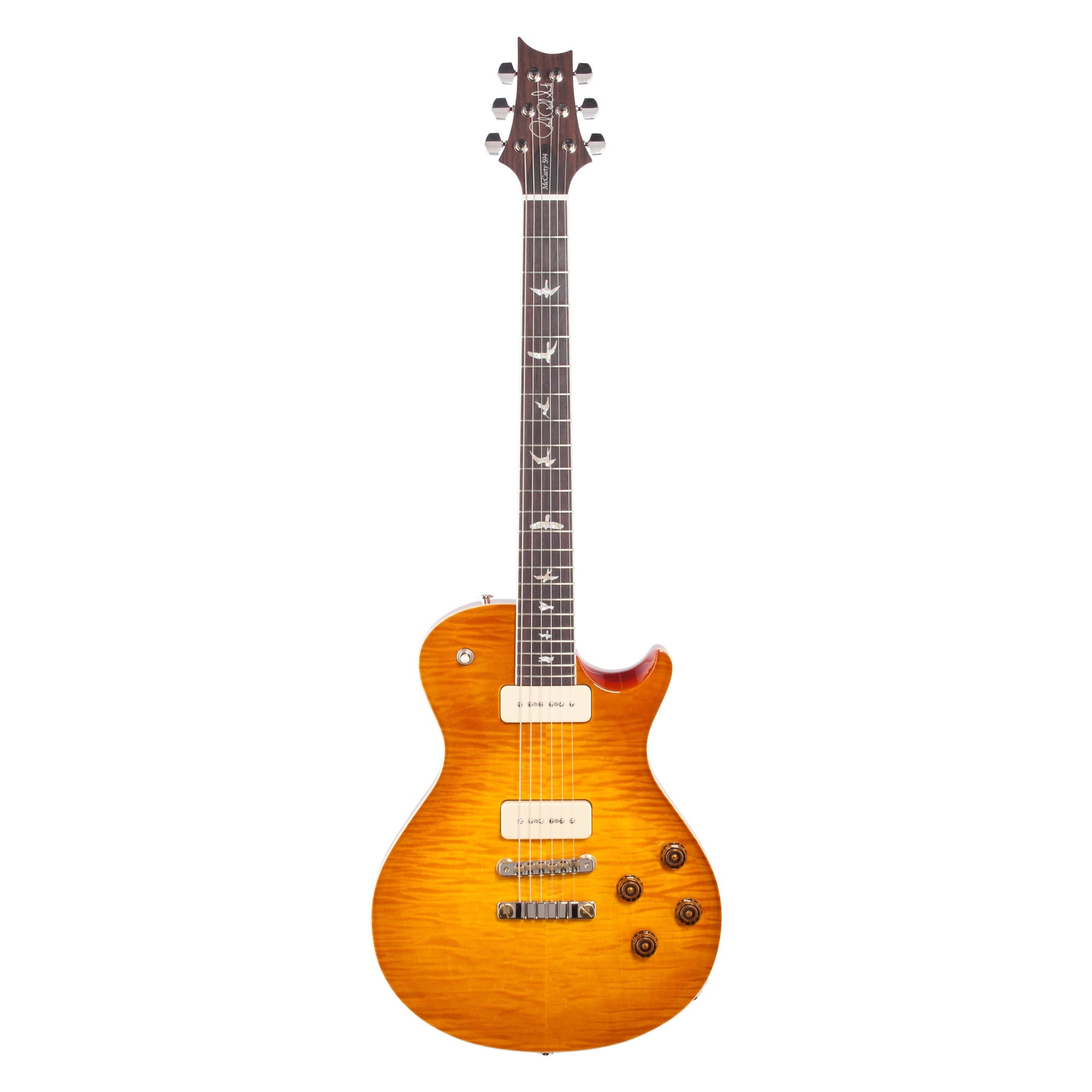 PRS Paul Reed Smith McCarty Singlecut 594 Soapbar 10-Top Electric Guitar (With Case), McCarty Sunburst