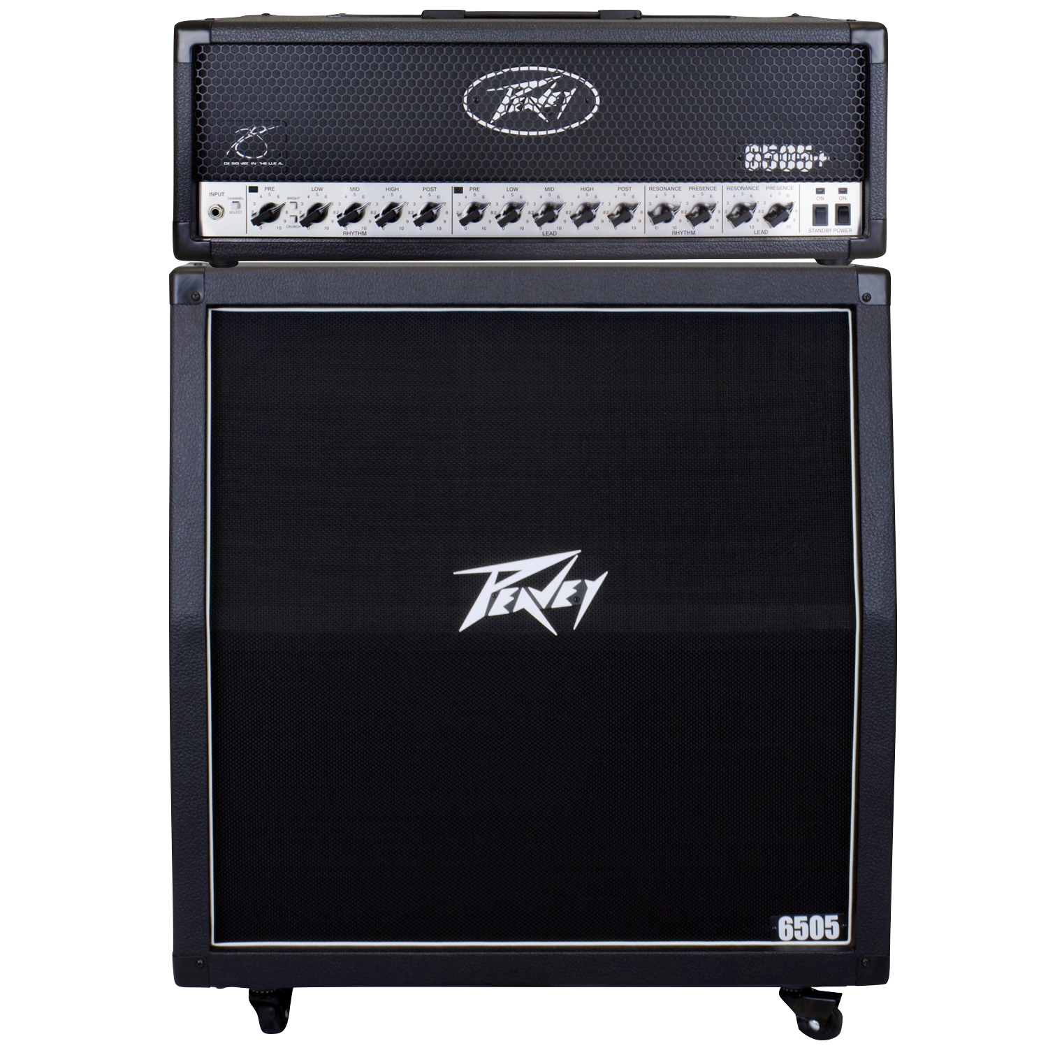 Peavey 6505 Guitar Amplifier Half Stack