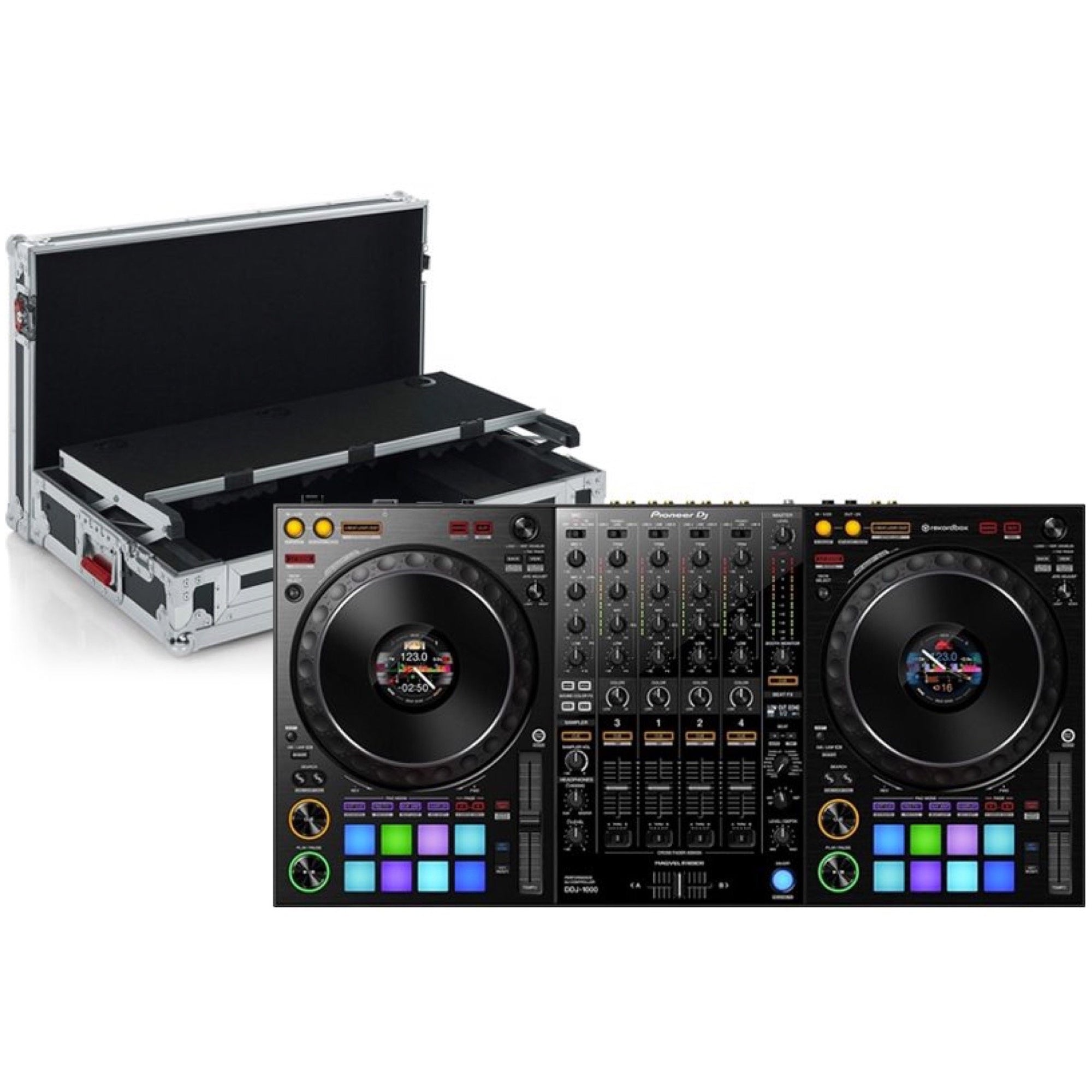 Pioneer DDJ-1000 Professional Controller for Rekordbox DJ, with Gator Case