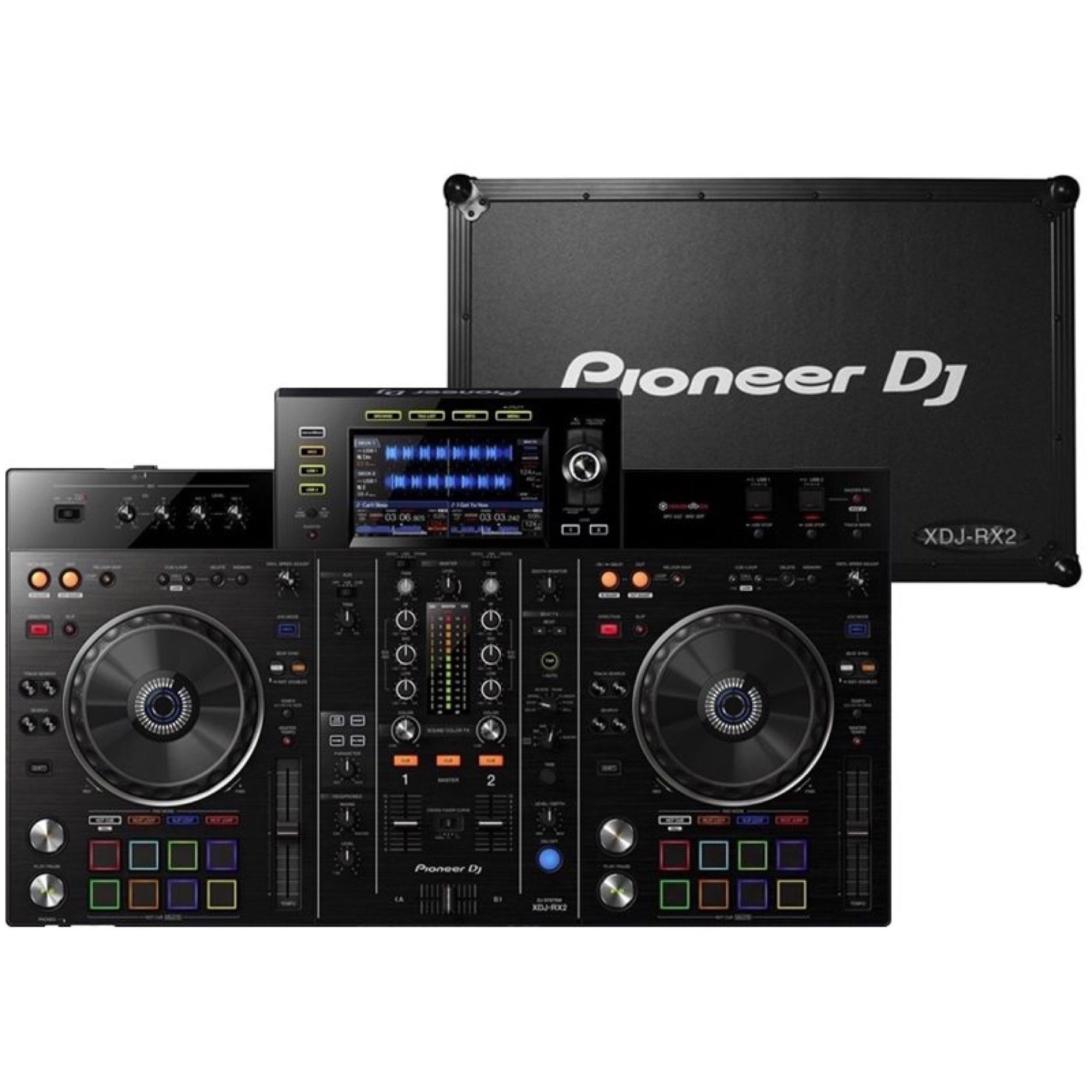 Pioneer DJ XDJ-RX2 DJ System, with Case