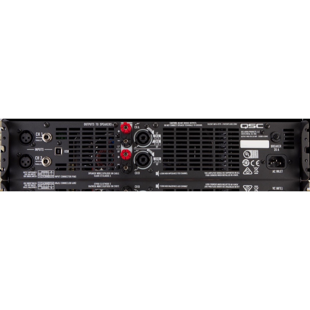 QSC GXD 8 Class D Power Amplifier with DSP