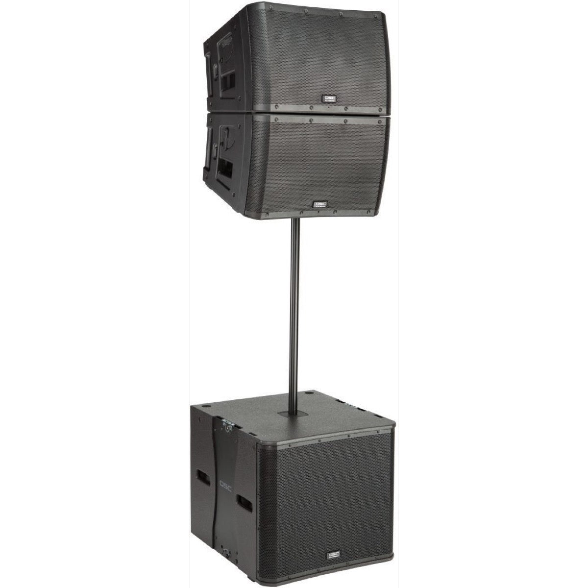 QSC KLA12 Active Line Array Speaker System, Black