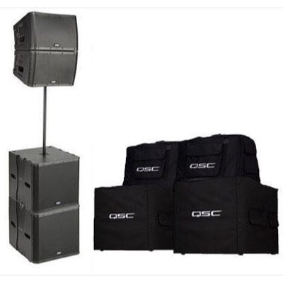 QSC KLA12 KLA181 Ground Stack Bundle Pack II