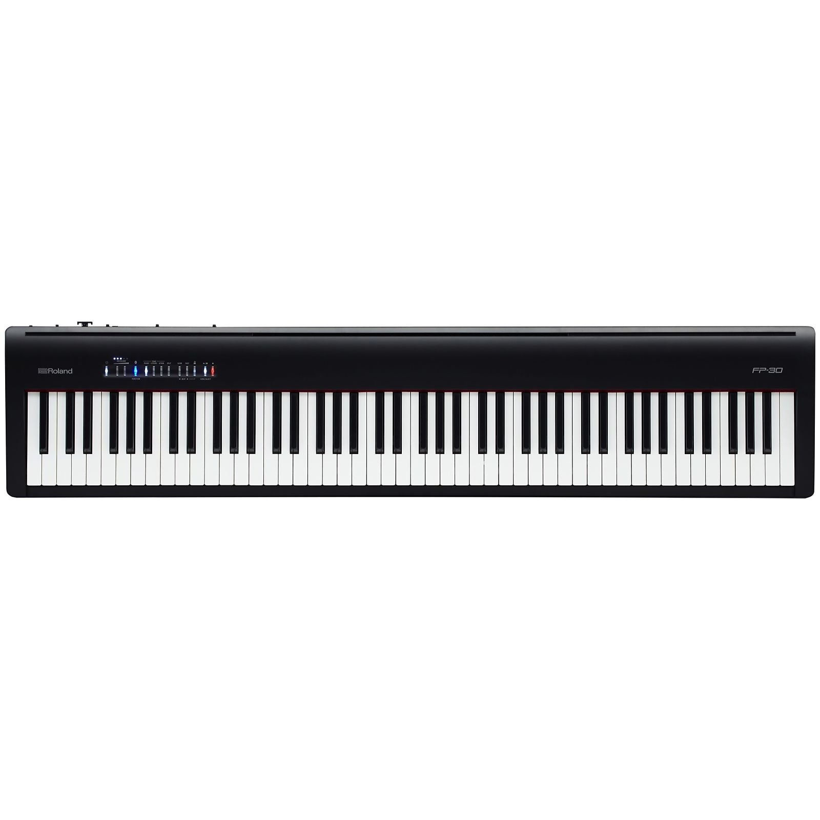 Roland FP-30 Digital Stage Piano, Black