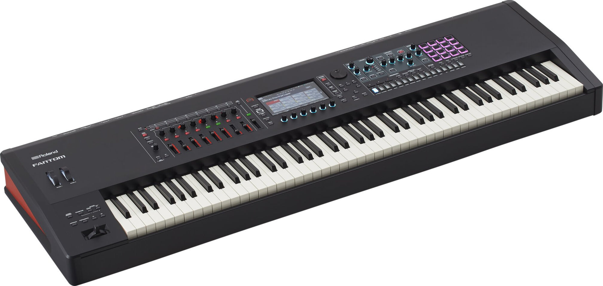 Roland Fantom 8 Music Synthesizer Workstation Keyboard, 88-Key