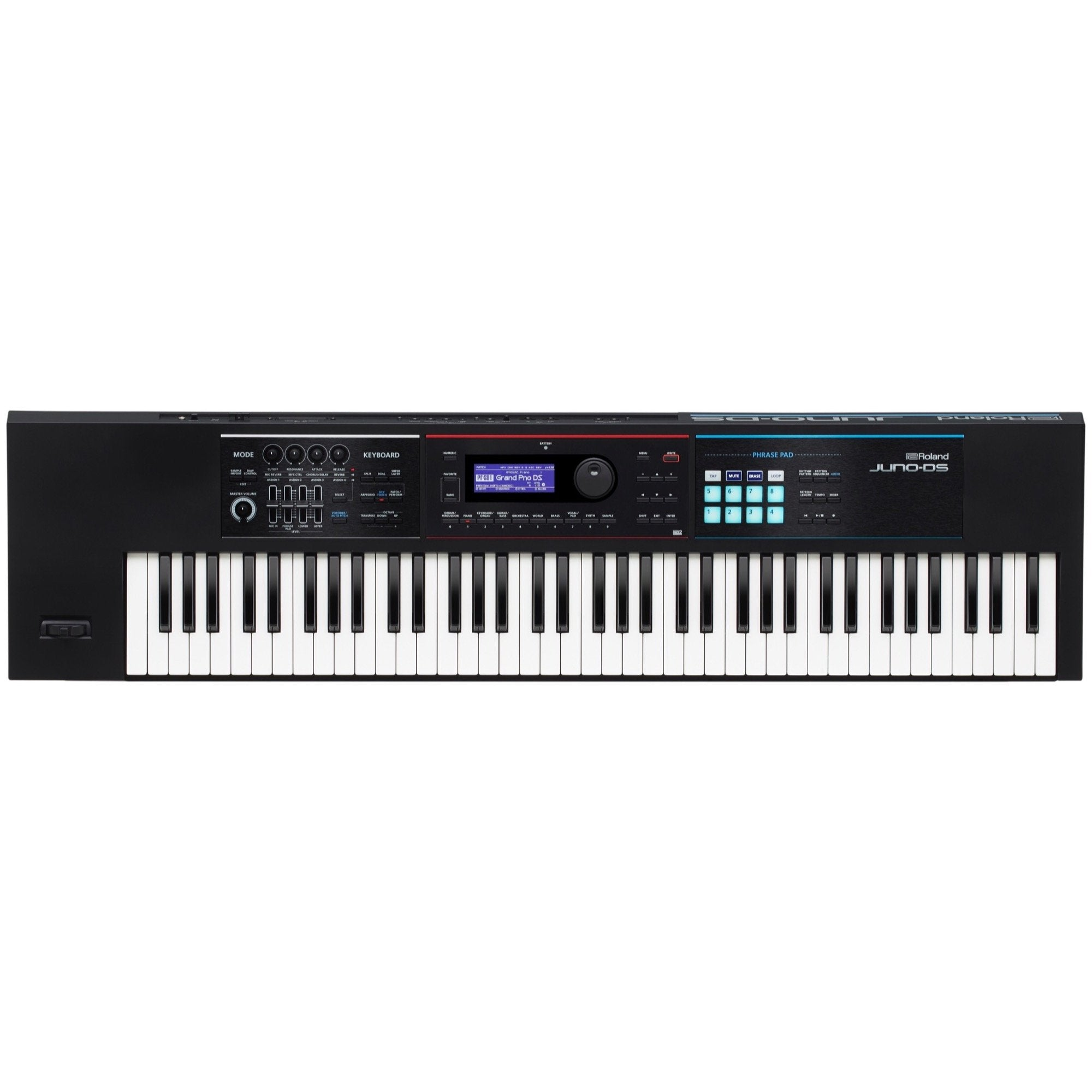 Roland Juno DS-76 Synthesizer Keyboard, 76-Key