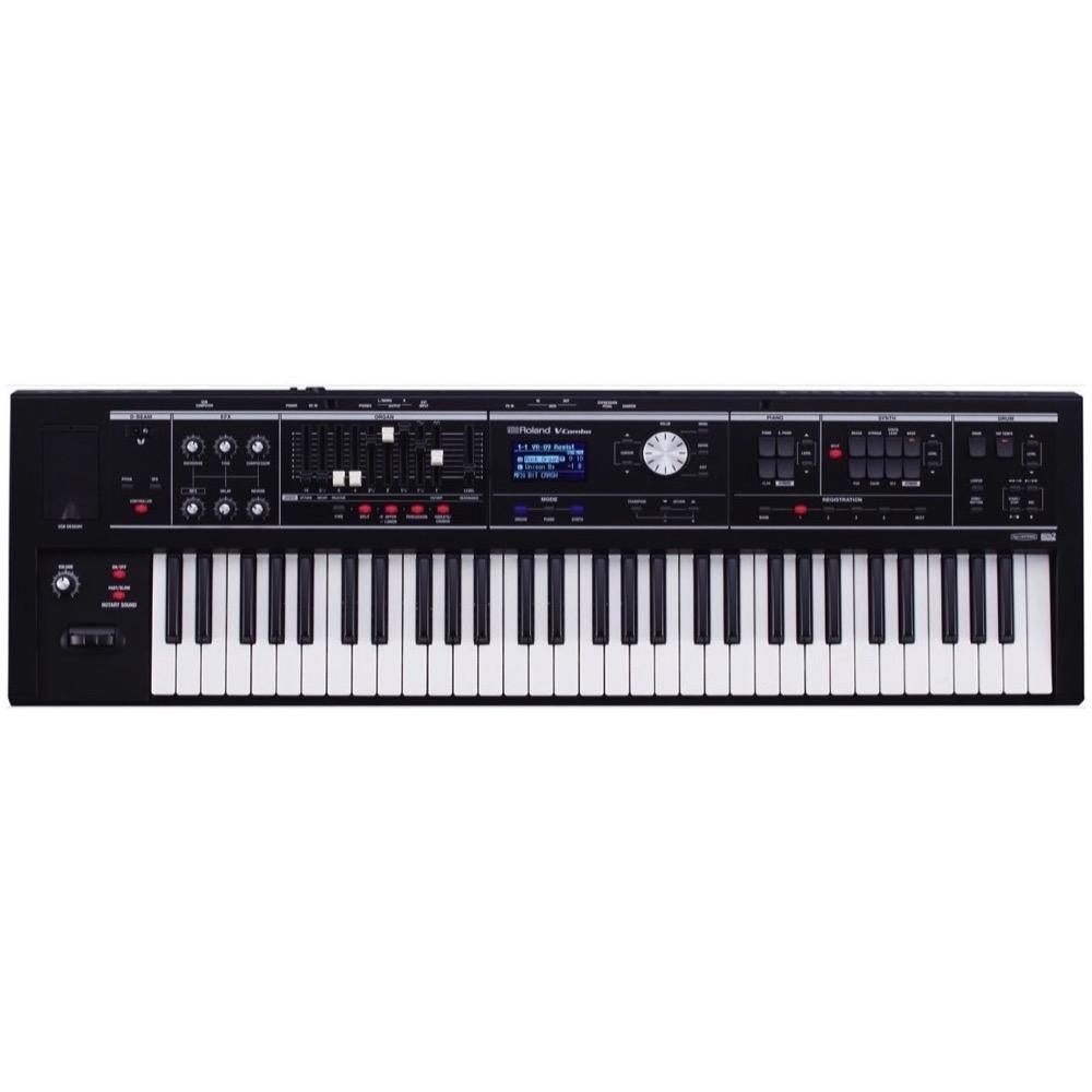 Roland VR-09 V-Combo Live Performance Keyboard, 61-Key, Matte Black
