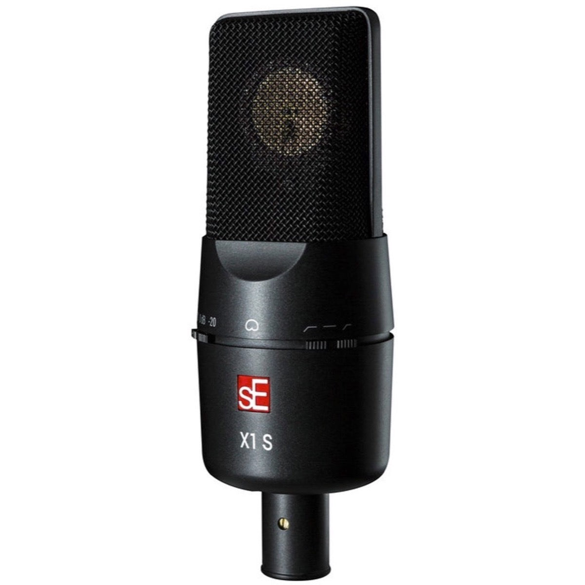 SE Electronics X1 S Vocal Microphone with Isolation Pack Shock Mount, Pop Filter, and Cable