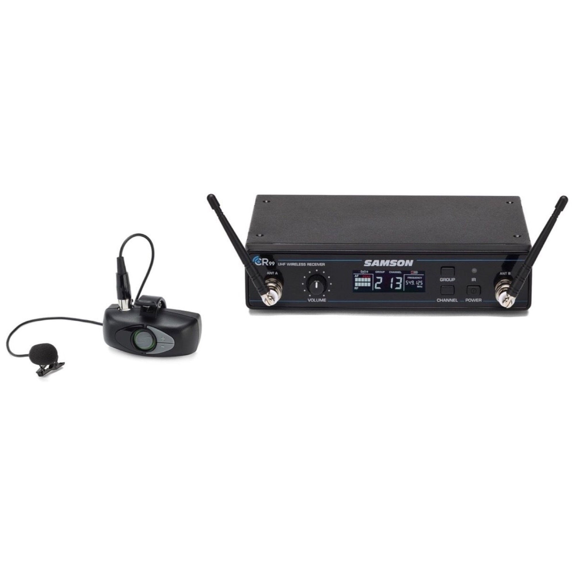 Samson Airline ALX Wireless Lavalier Microphone System, Channel D