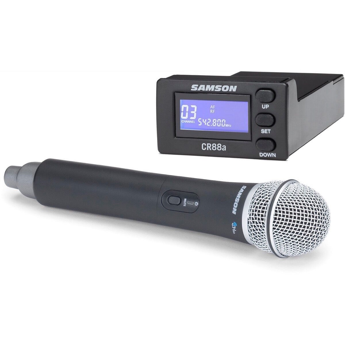Samson XP312w Rechargeable Portable PA System, Band D (542-566 MHz)