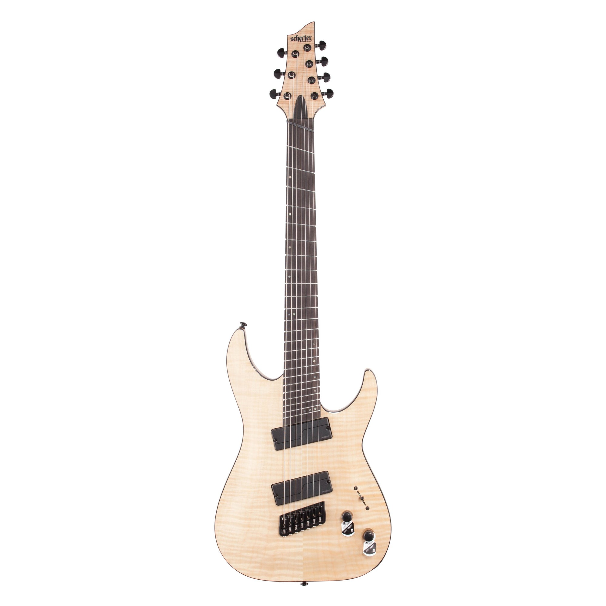 Schecter C-7 MS SLS Elite Electric Guitar, Gloss Natural