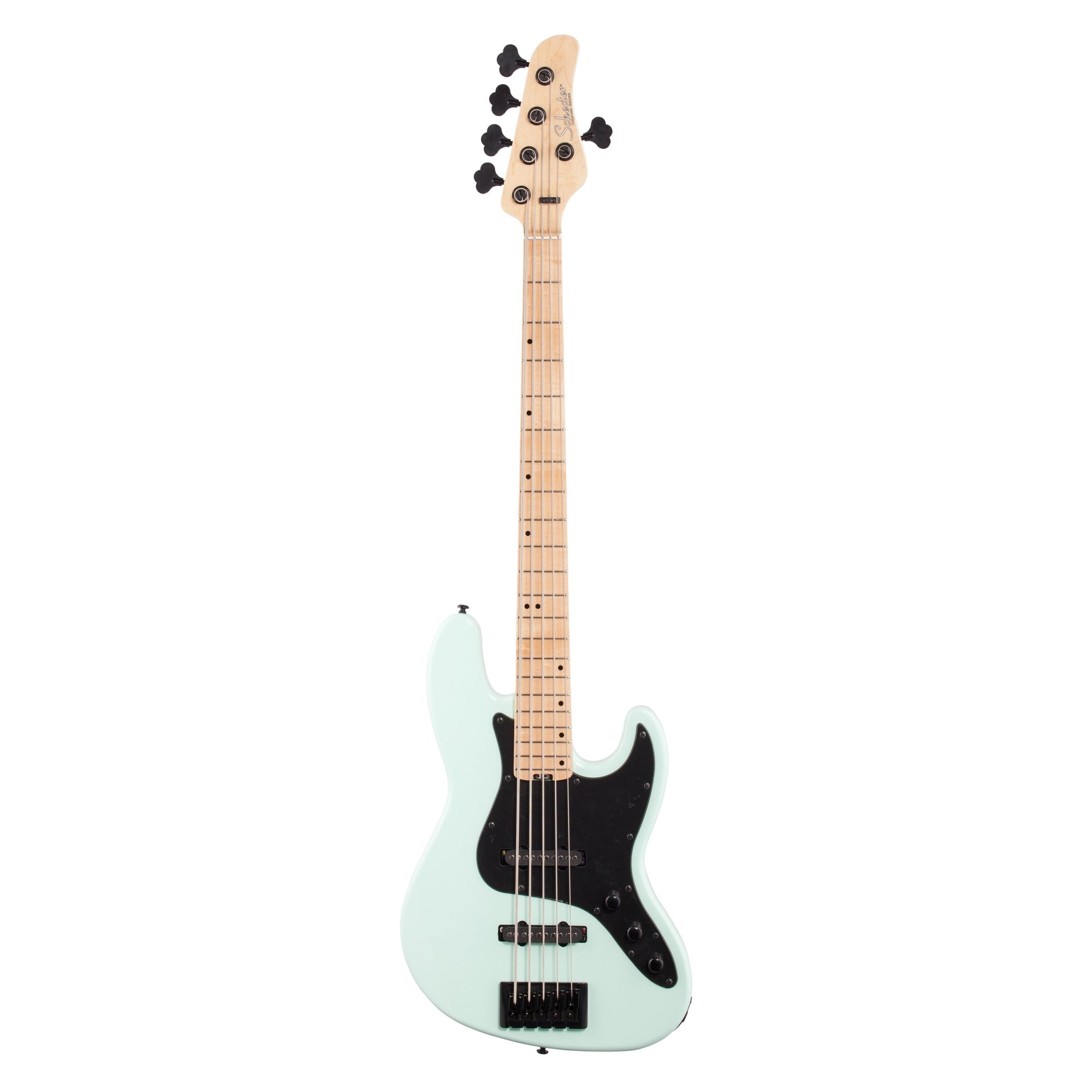 Schecter J5 Electric Bass, Seafoam Green