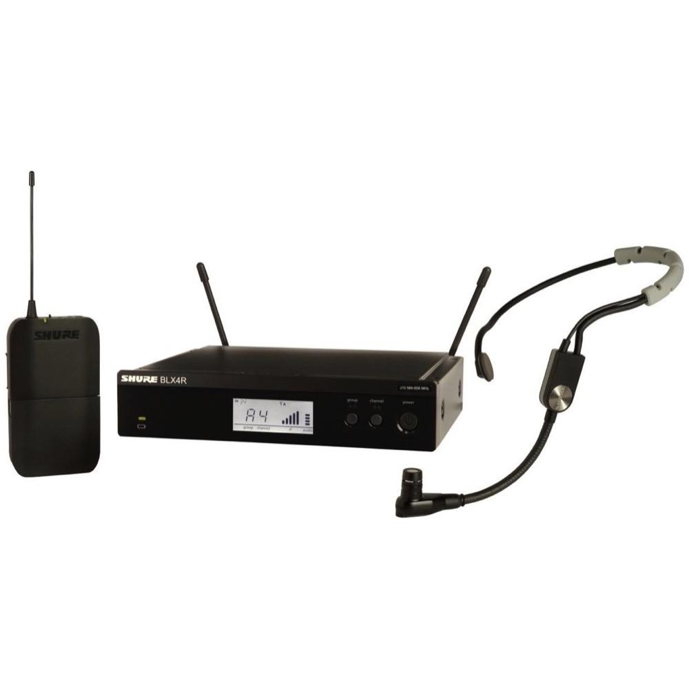 Shure BLX14RSM35 Wireless Headset Microphone System, Band H9 (512-542 MHz)