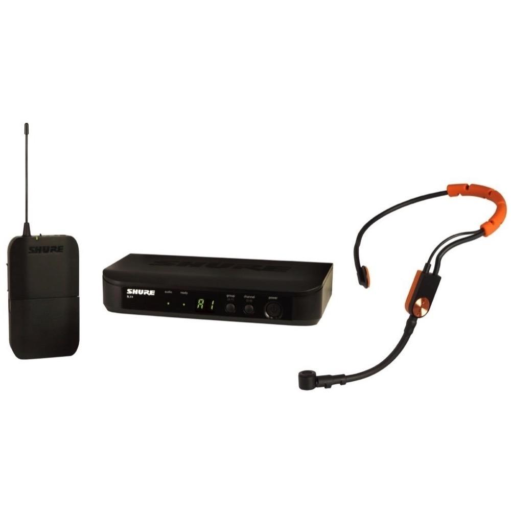 Shure BLX14SM31 SM31 Wireless Fitness Headset Microphone System, Band H9 (512-542 MHz)