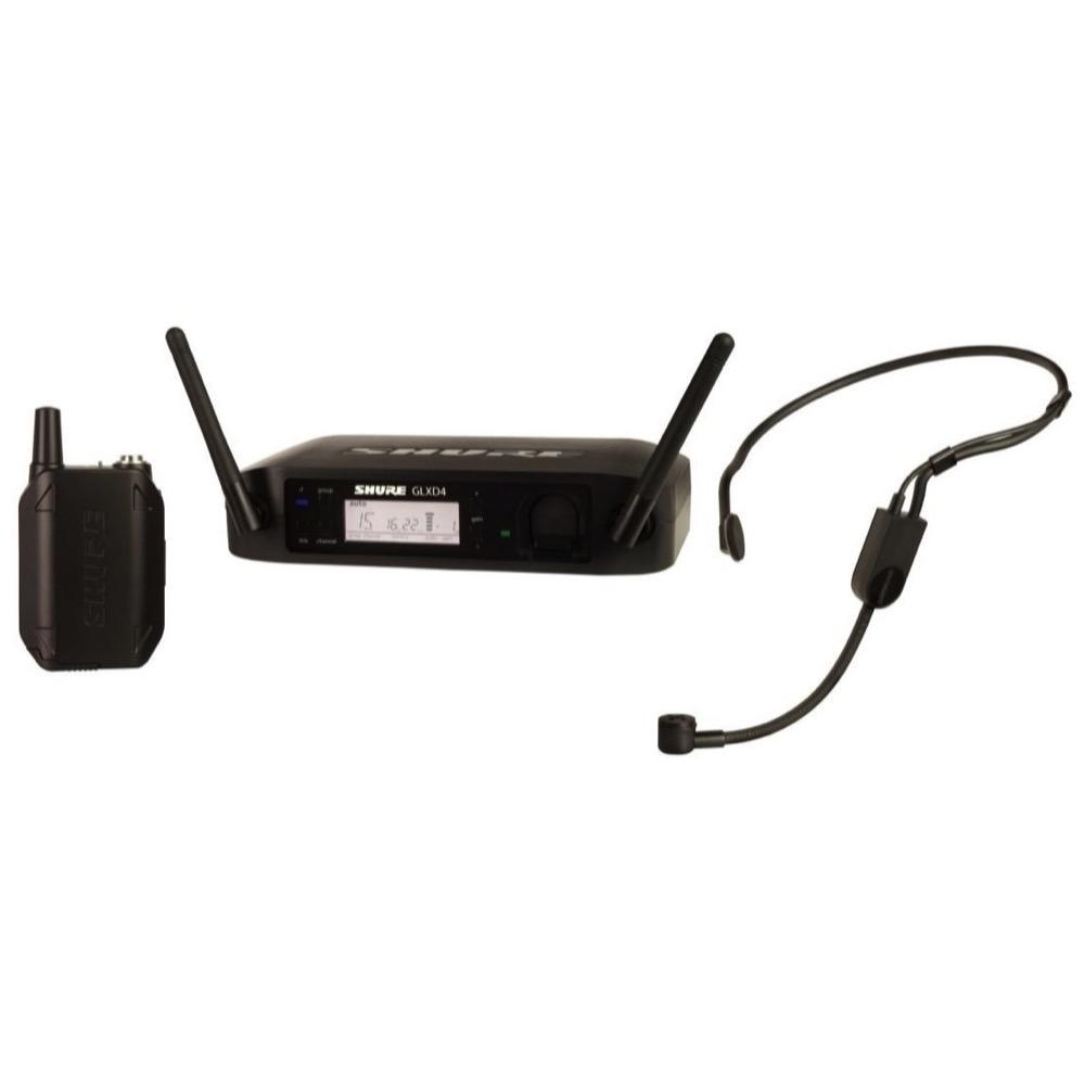 Shure GLXD14PGA31 Digital Wireless Headset Microphone System, Band Z2 (2.4 GHz)