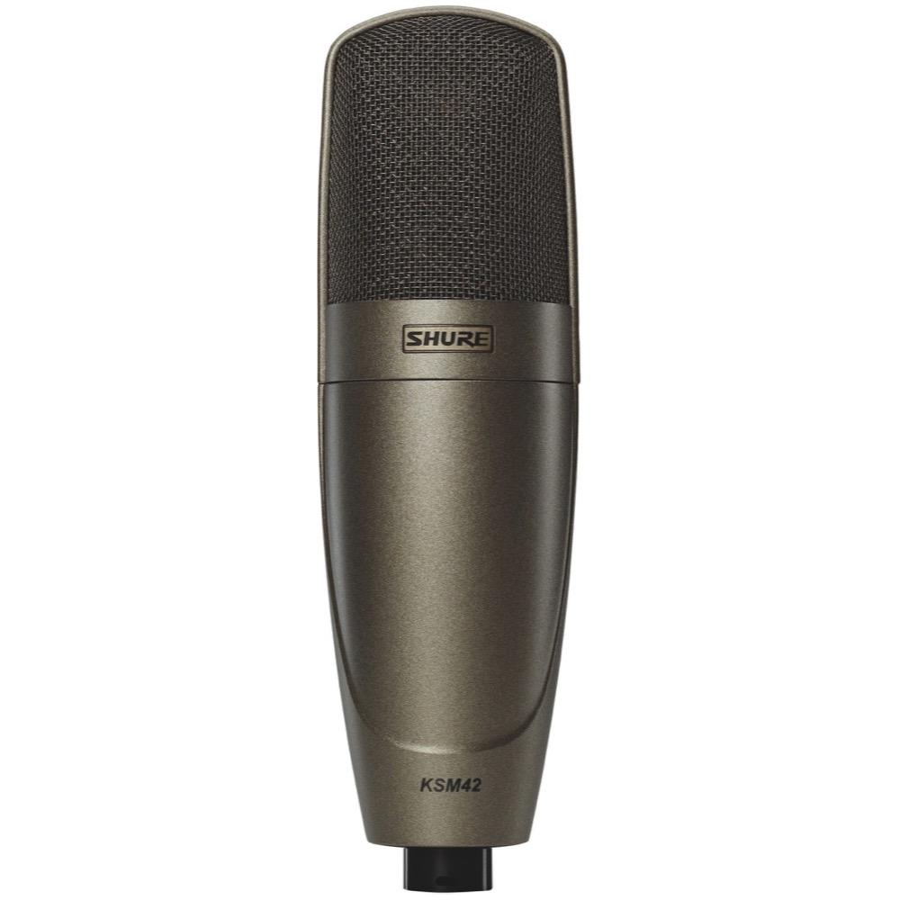 Shure KSM42 Large Dual-Diaphragm Side Address Condenser Microphone, KSM42SG