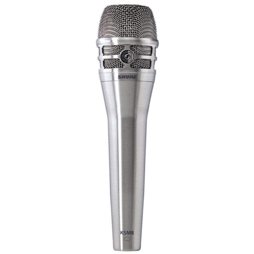 Shure KSM8 Dualdyne Dynamic Cardioid Vocal Microphone, Nickel