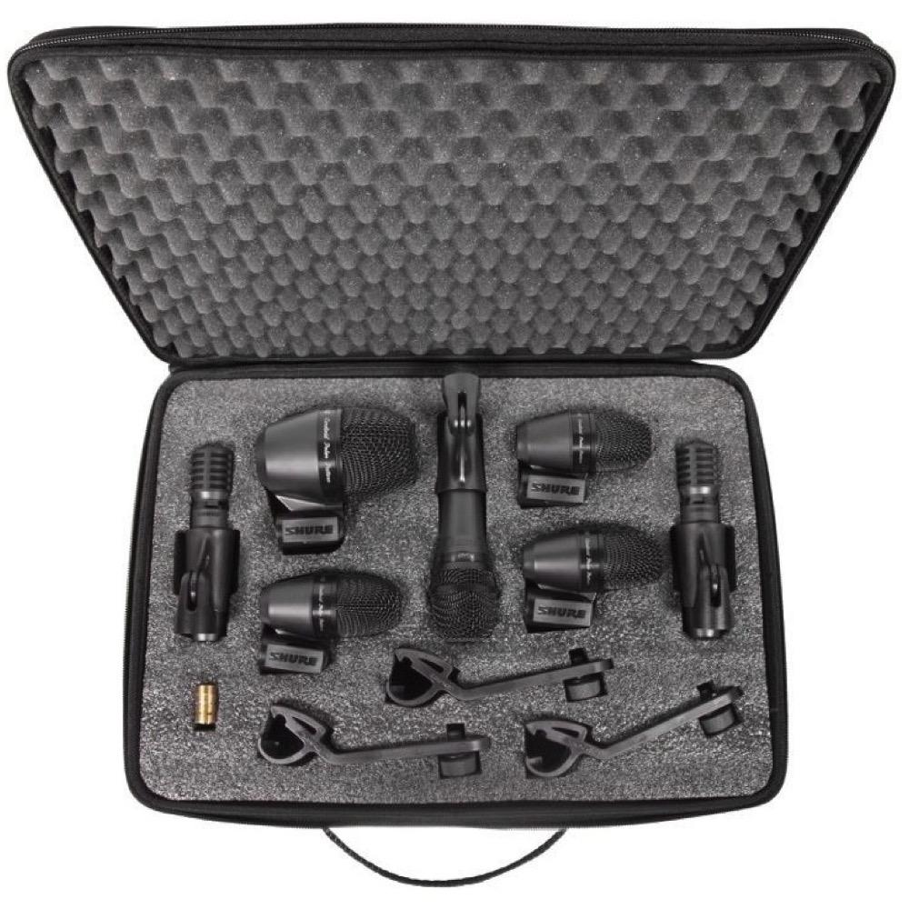 Shure PGADRUMKIT7 7-Piece Drum Microphone Kit (with Case)