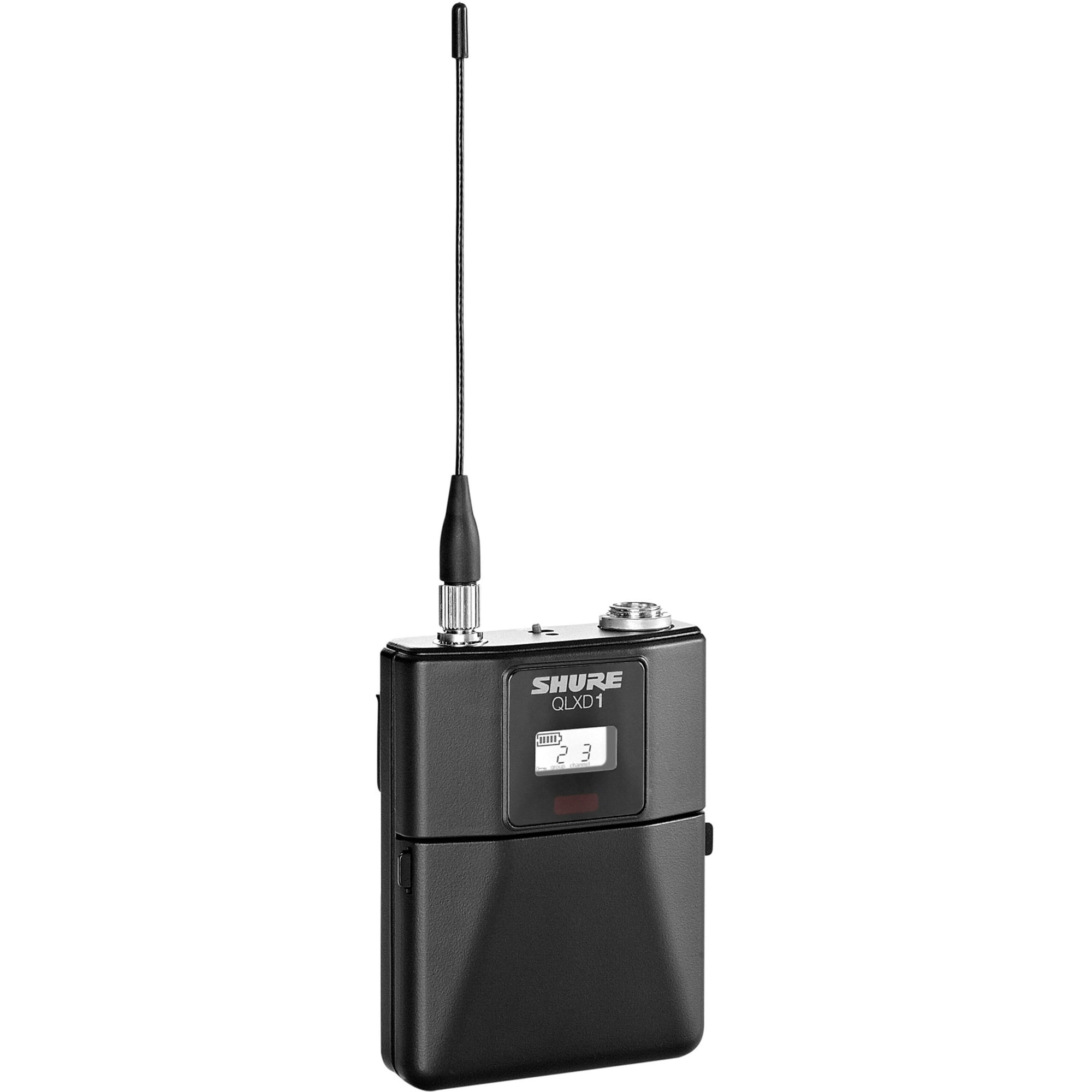 Shure QLXD1483 Wireless System with WL183 Lavalier Microphone, Band J50A (572 - 608 MHz)