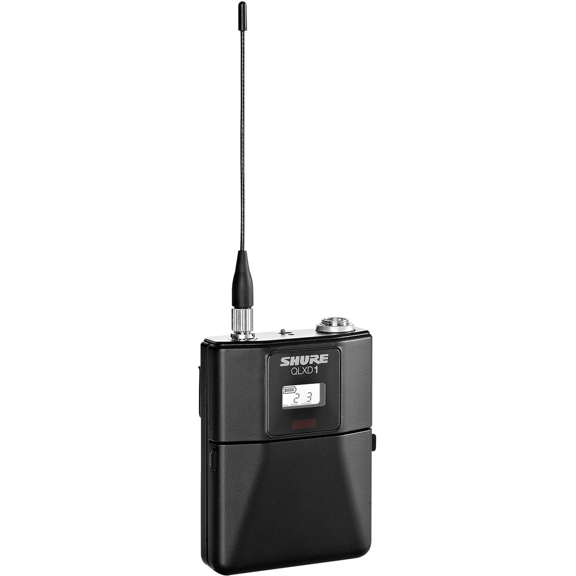 Shure QLXD1484 Wireless System with WL184 Lavalier Microphone, Band J50A (572 - 608 MHz)