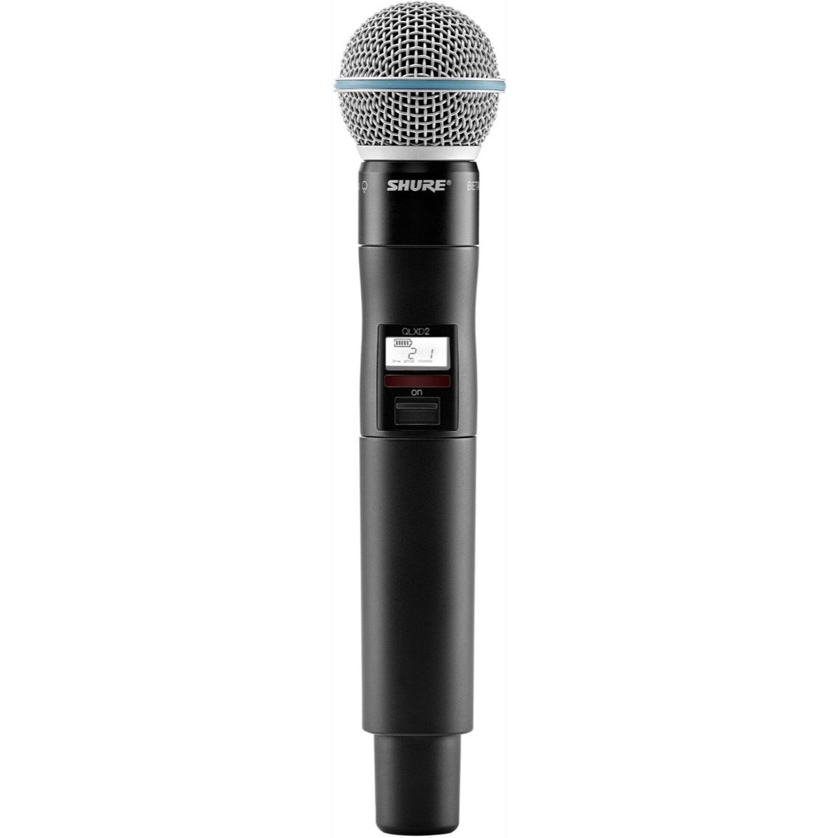 Shure QLXD24B58 Wireless System with Beta 58A Handheld Microphone Transmitter, Band J50A (572 - 608 MHz)