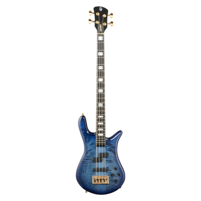 Spector Euro4 LT Electric Bass (with Gig Bag), Blue Fade Gloss