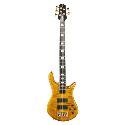 Spector Euro5 LT Electric Bass, 5-String (with Gig Bag), Tiger Eye Gloss