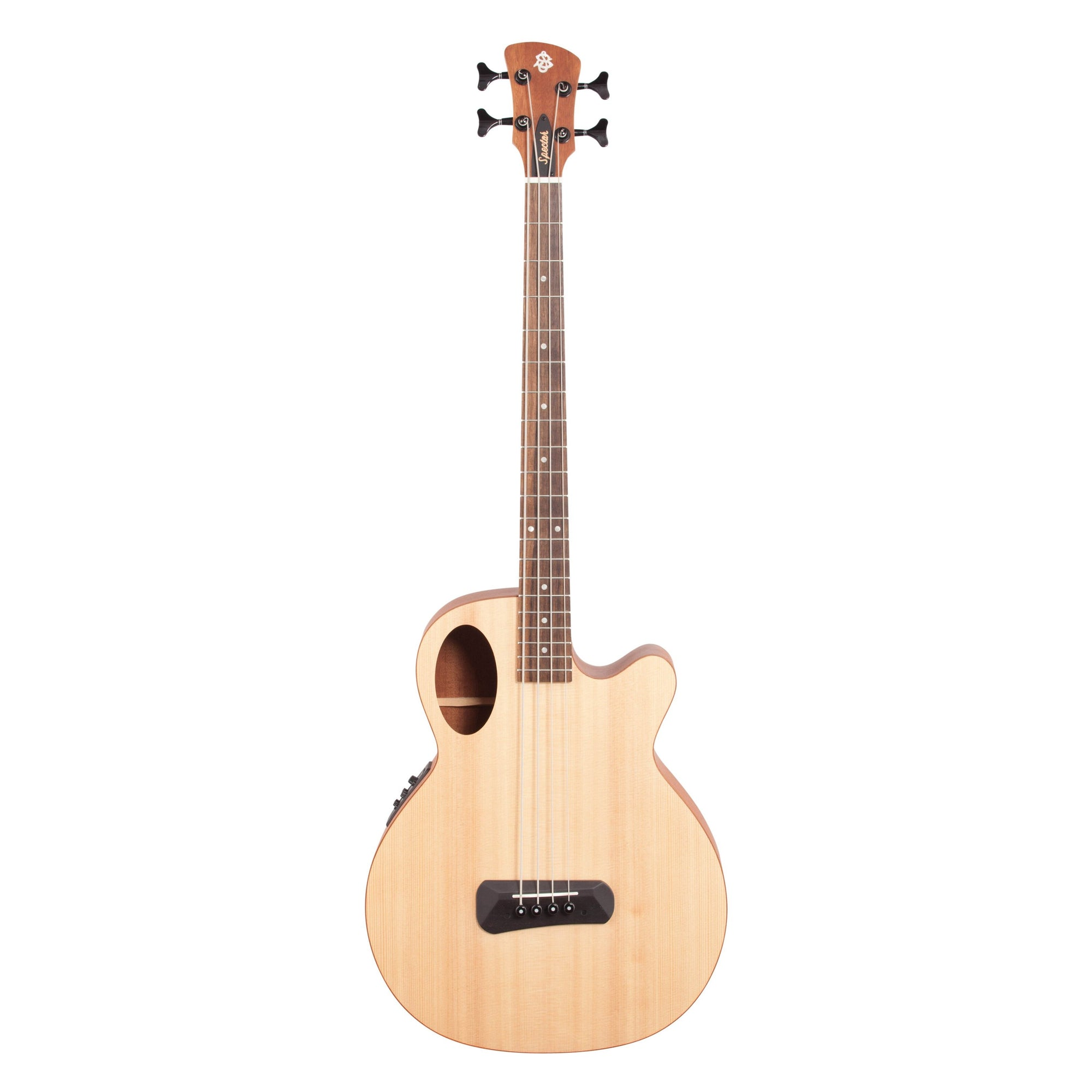 Spector Timbre Junior Short-Scale Acoustic Bass, Natural