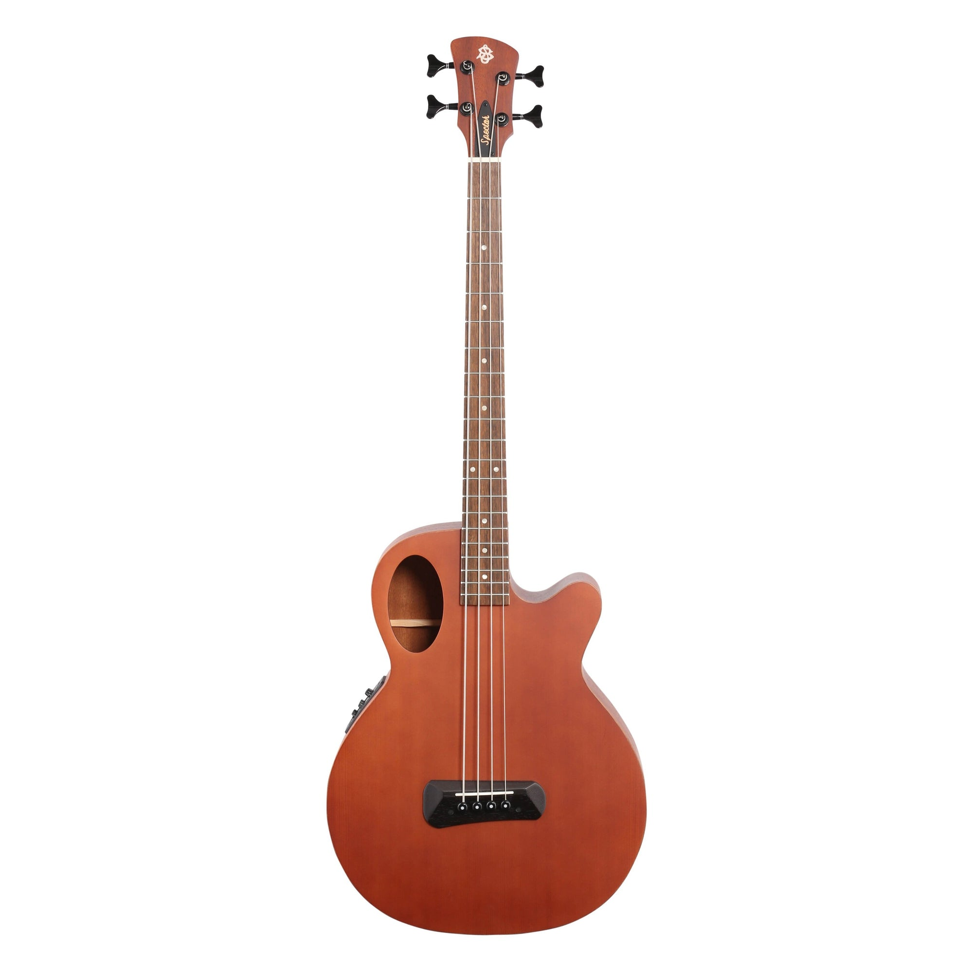 Spector Timbre Junior Short-Scale Acoustic Bass, Walnut