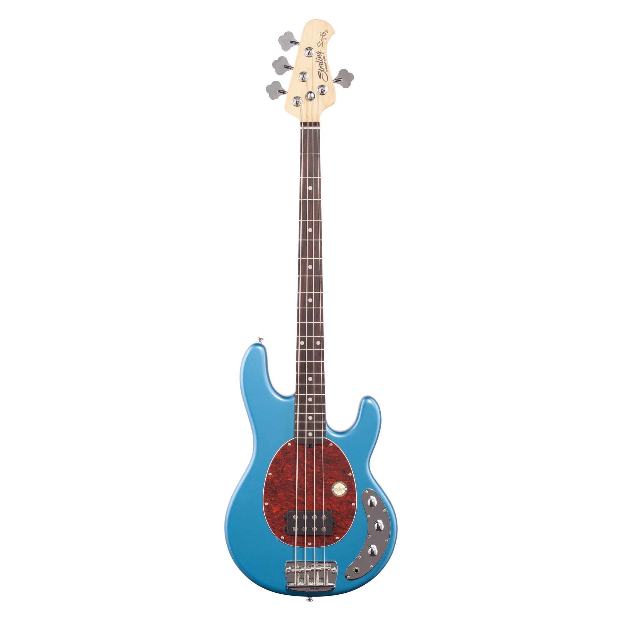 Sterling by Music Man StingRay Ray24 Electric Bass, Toluca Lake Blue