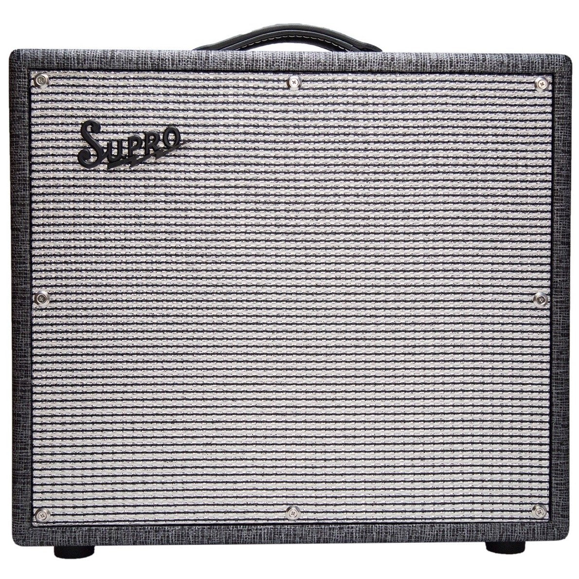 Supro 1695T Black Magick Guitar Combo Amplifier (1x12 Inch, 25 Watts)