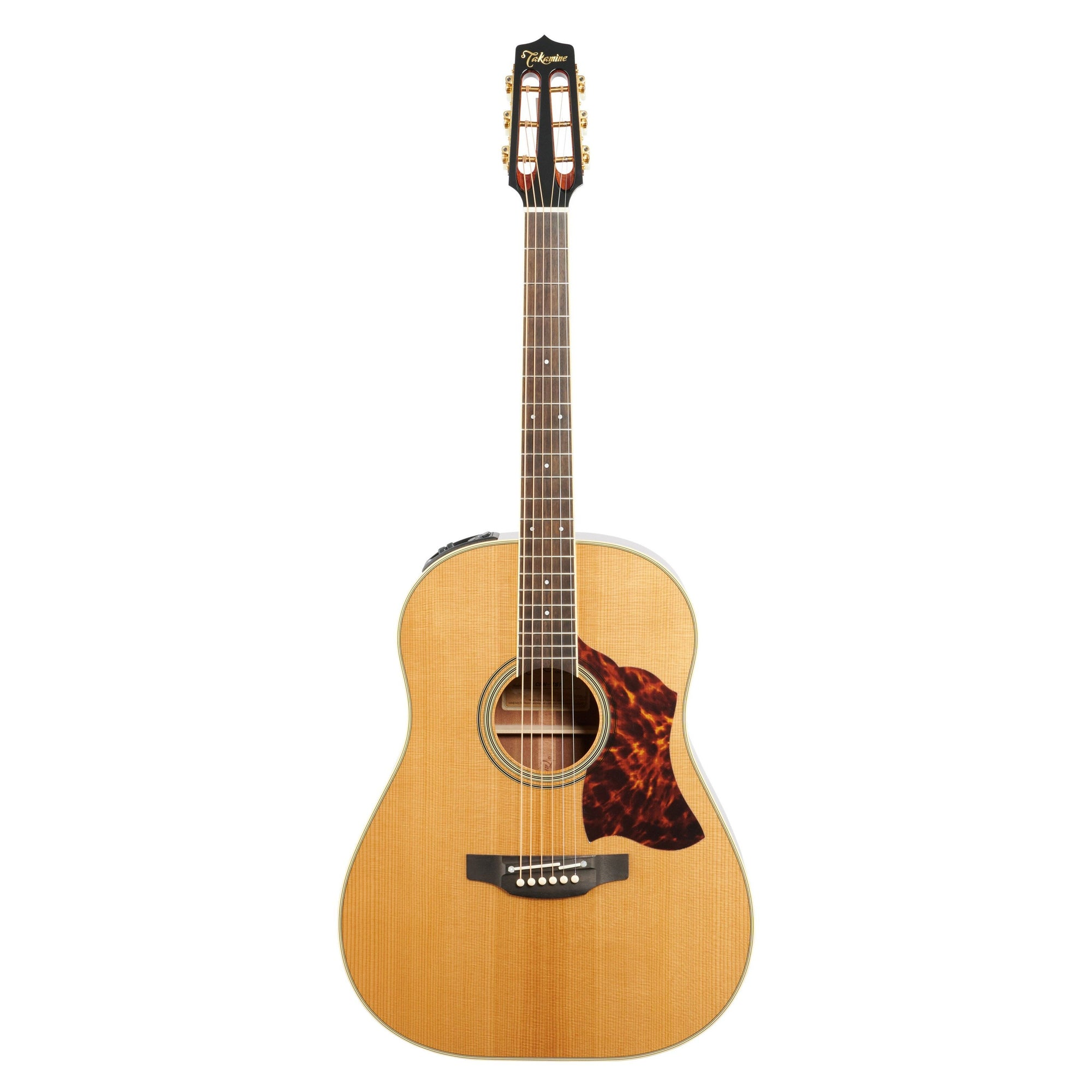 Takamine CRN-TS1 Slope Shoulder Dreadnought Acoustic-Electric Guitar (with Case), Natural