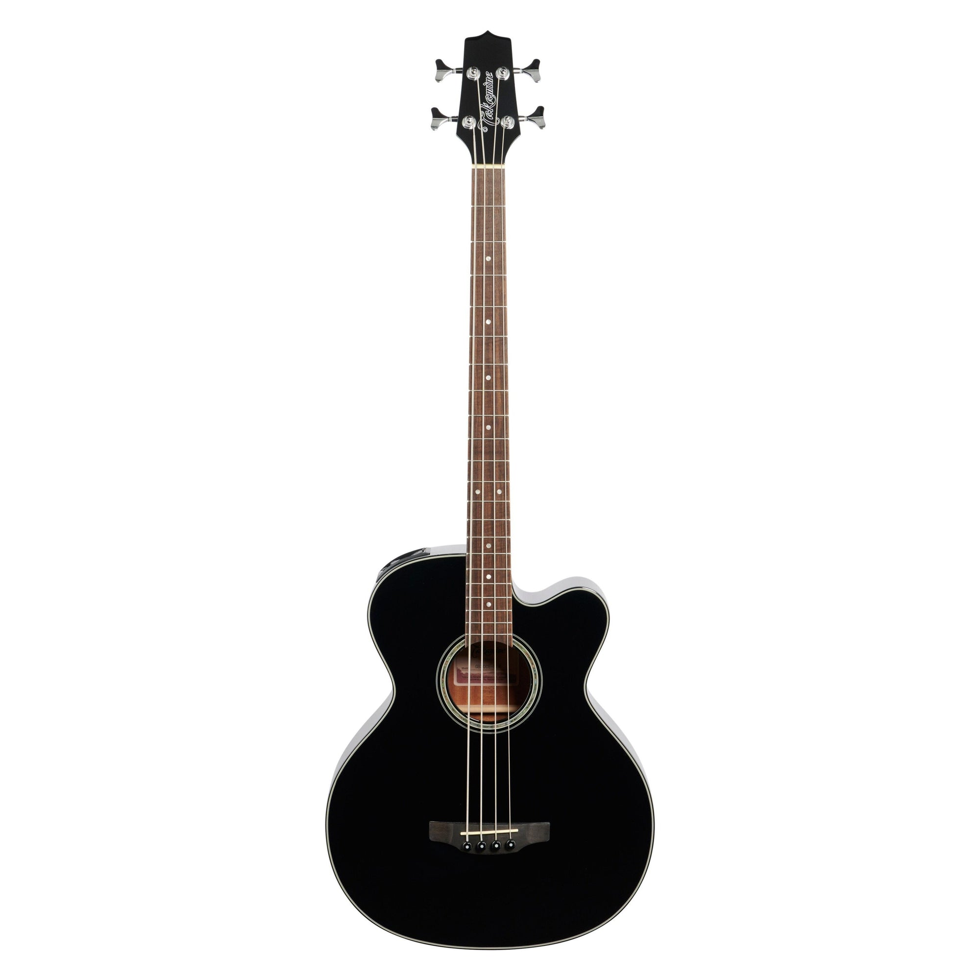 Takamine GB-30CE Acoustic-Electric Bass, Black