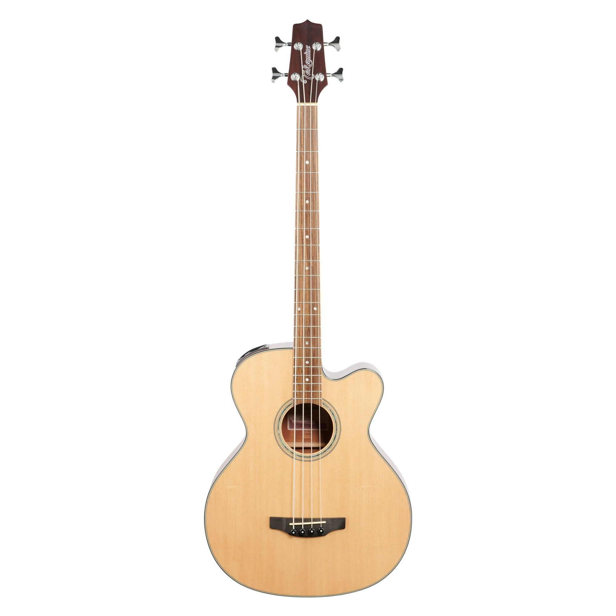 Takamine GB-30CE Acoustic-Electric Bass, Natural