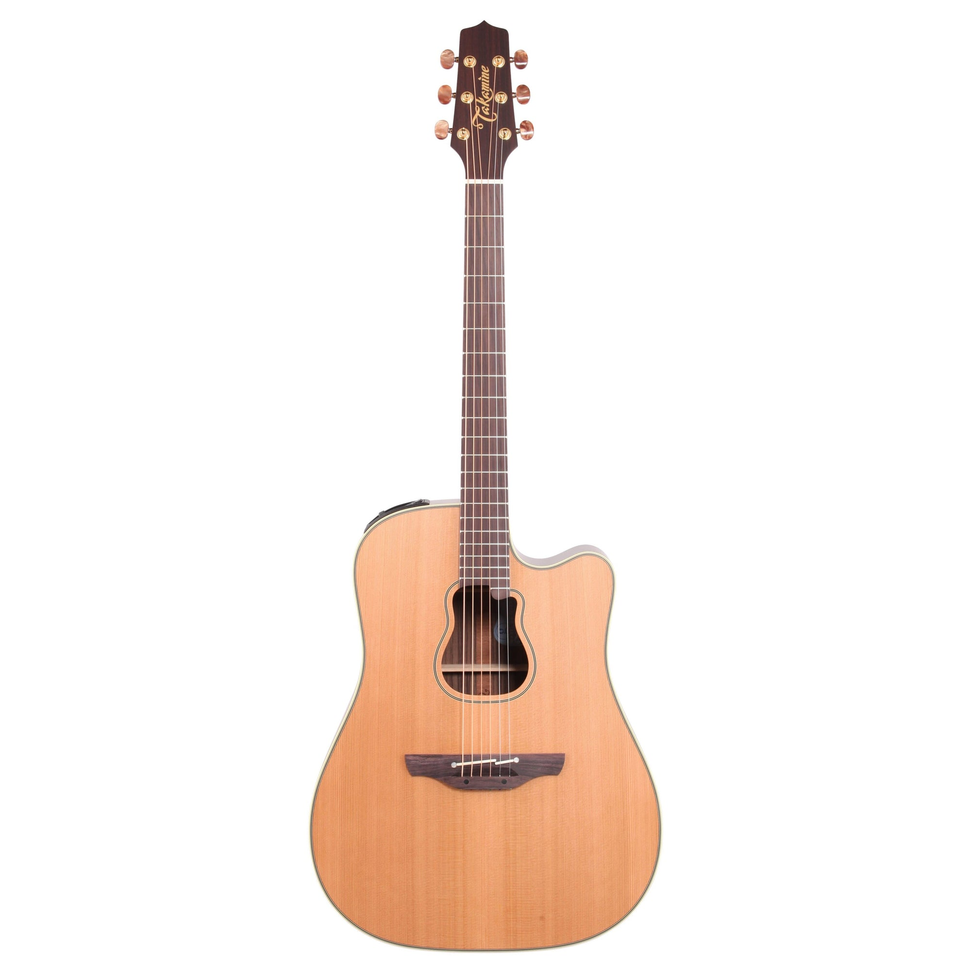 Takamine GB7C Garth Brooks Acoustic-Electric Guitar (with Case), Natural Satin