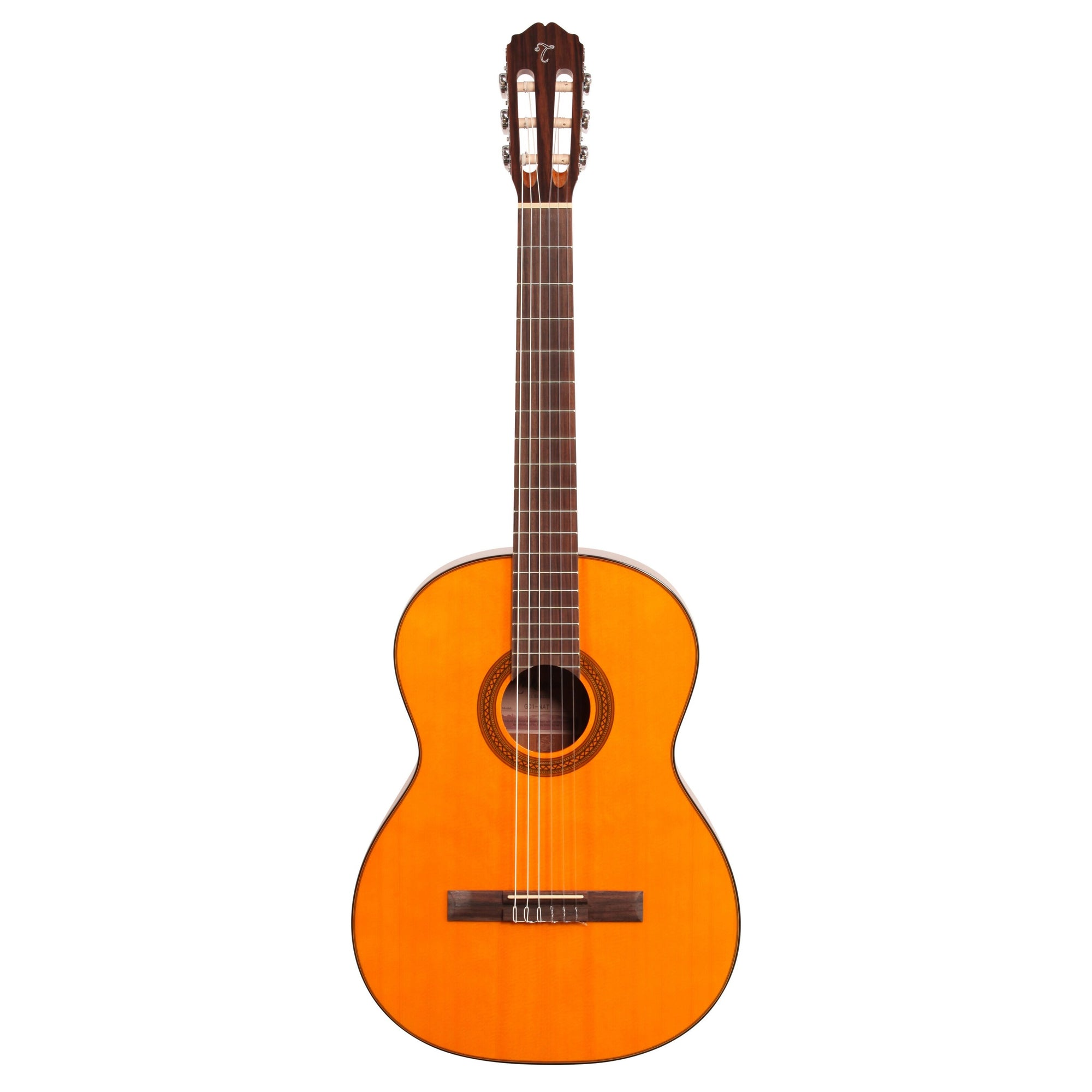Takamine GC1 Classical Acoustic Guitar, Natural