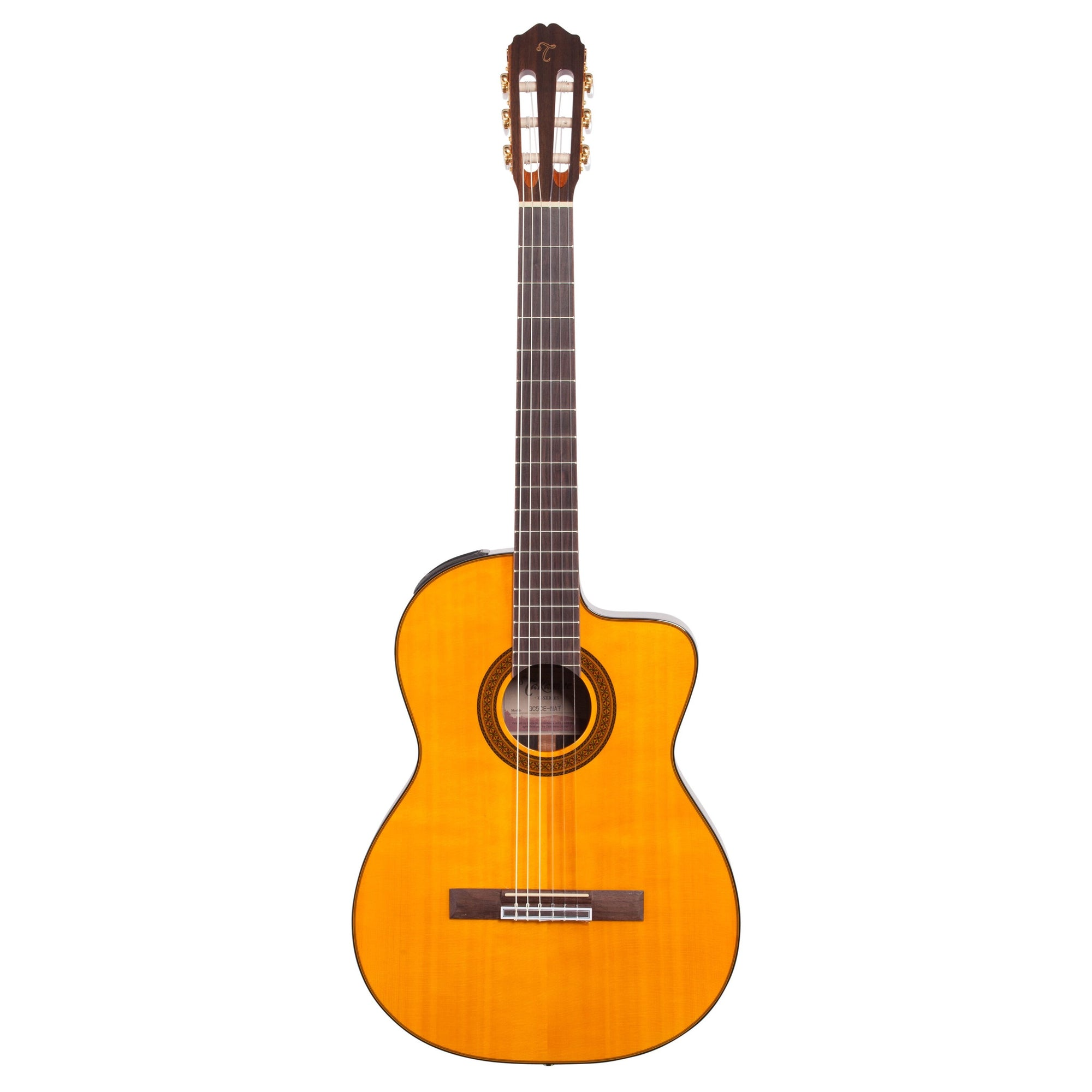Takamine GC5CE Classical Acoustic-Electric Guitar, Natural