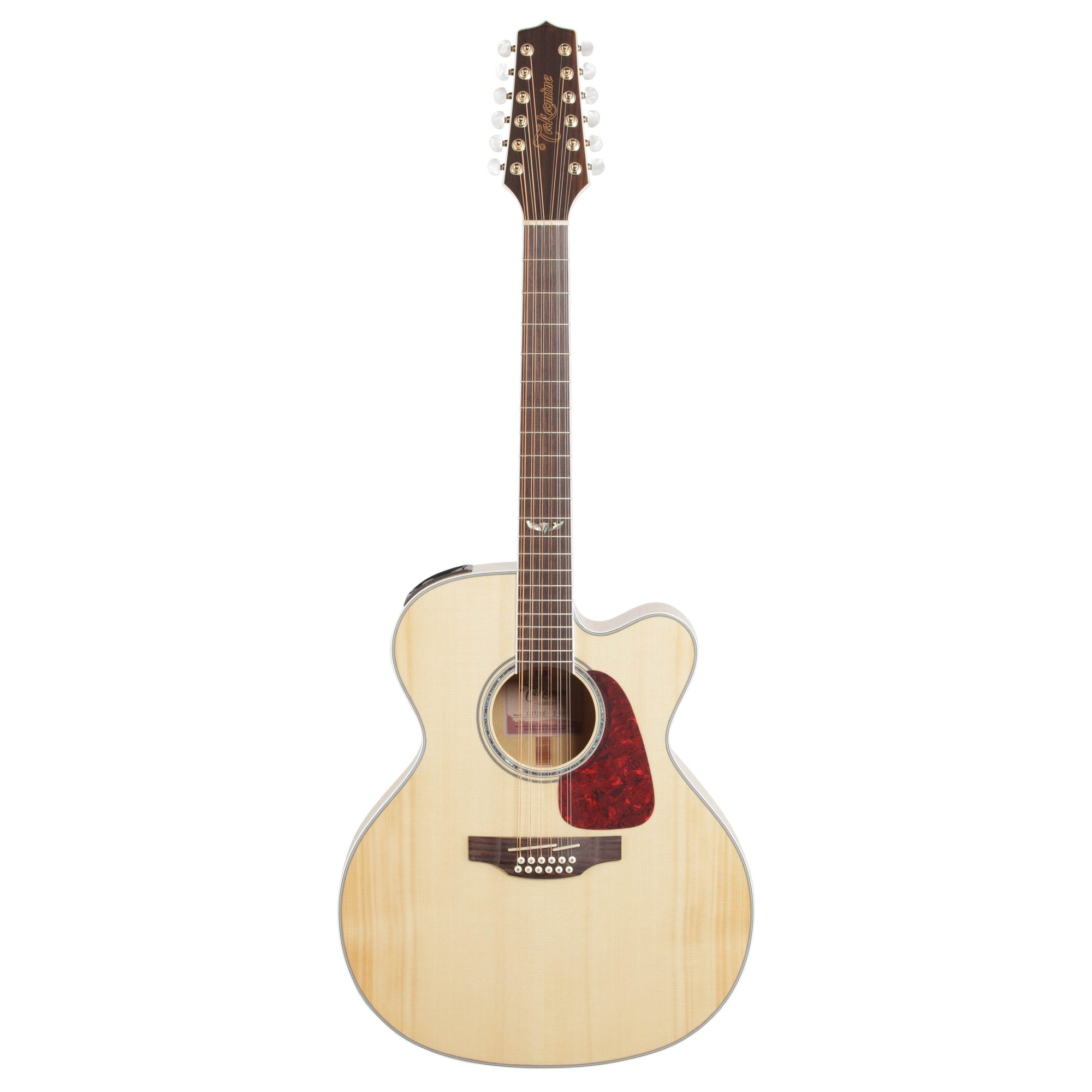 Takamine GJ72CE Jumbo Cutaway Acoustic-Electric Guitar, 12-String, Natural