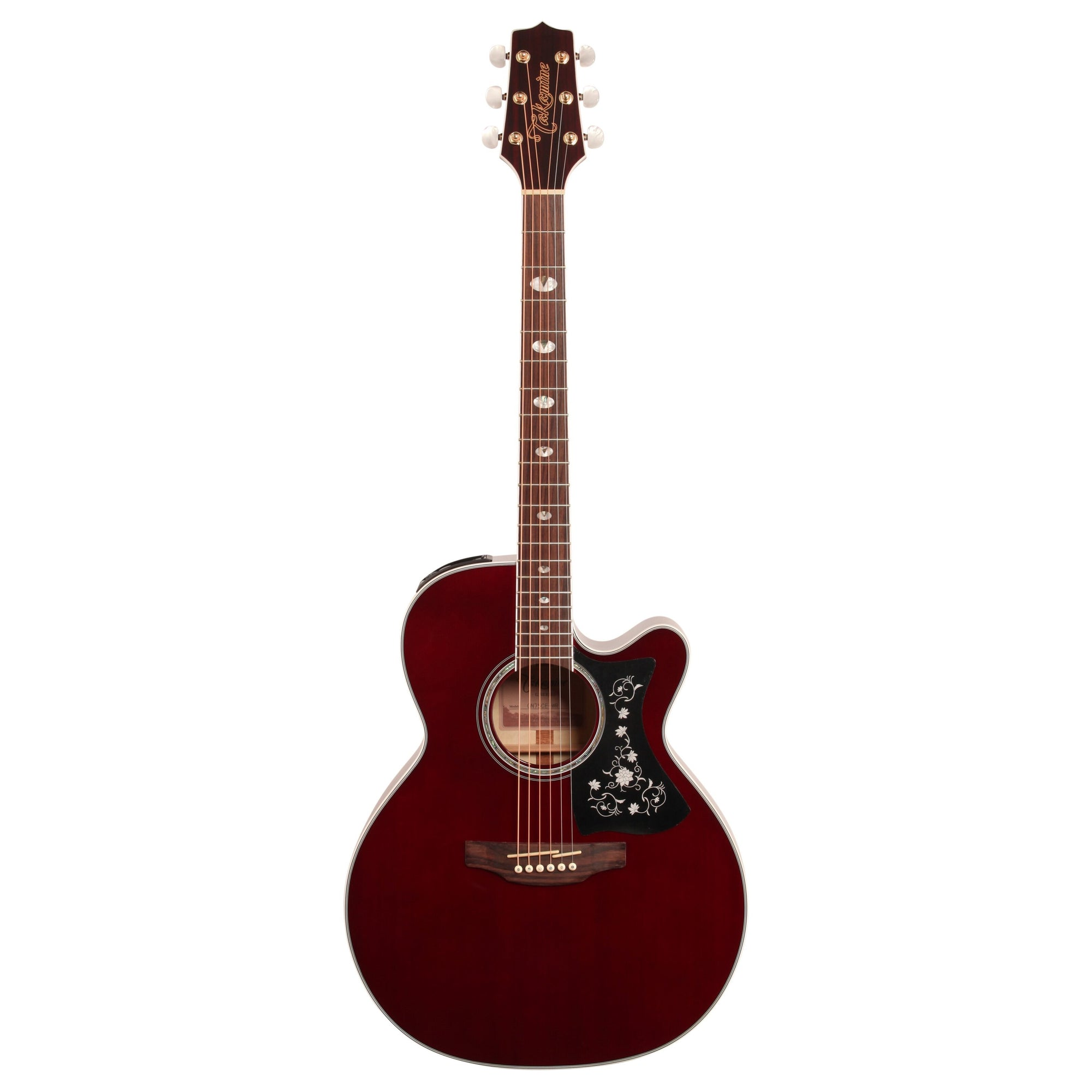 Takamine GN75CE Acoustic-Electric Guitar, Wine Red