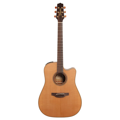 Takamine P3DC Acoustic-Electric Guitar (with Case), Natural