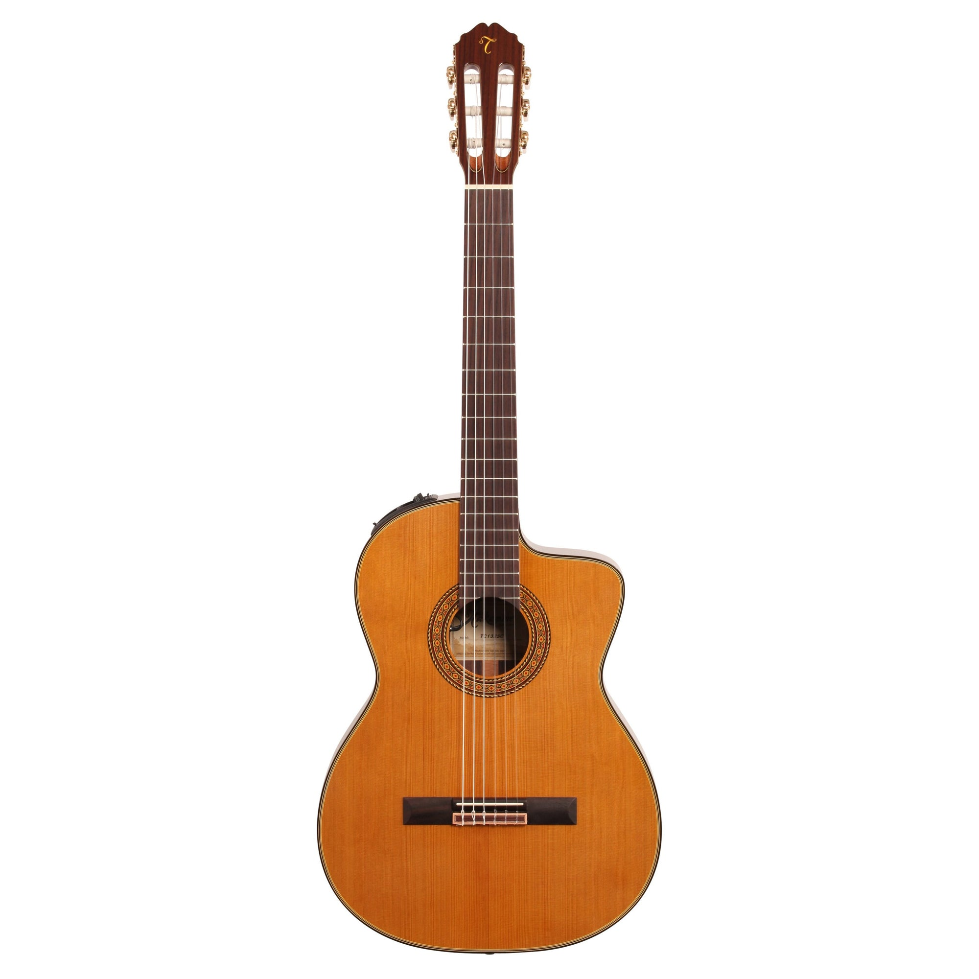 Takamine TC132SC Classical Guitar (with Case), Natural