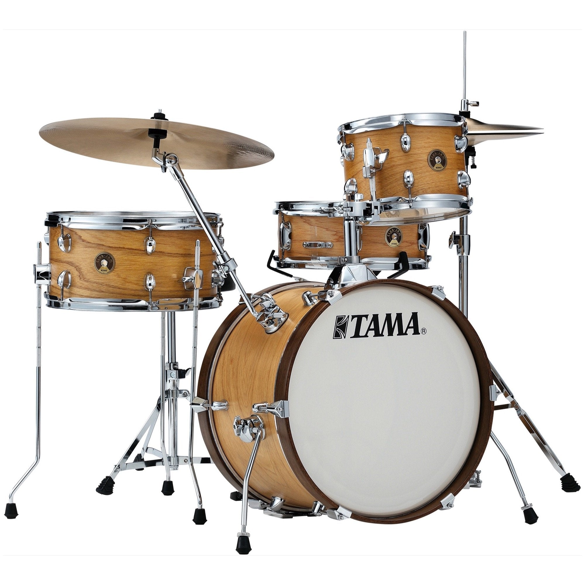 Tama Club Jam Drum Shell Kit, 4-Piece, Satin Blonde
