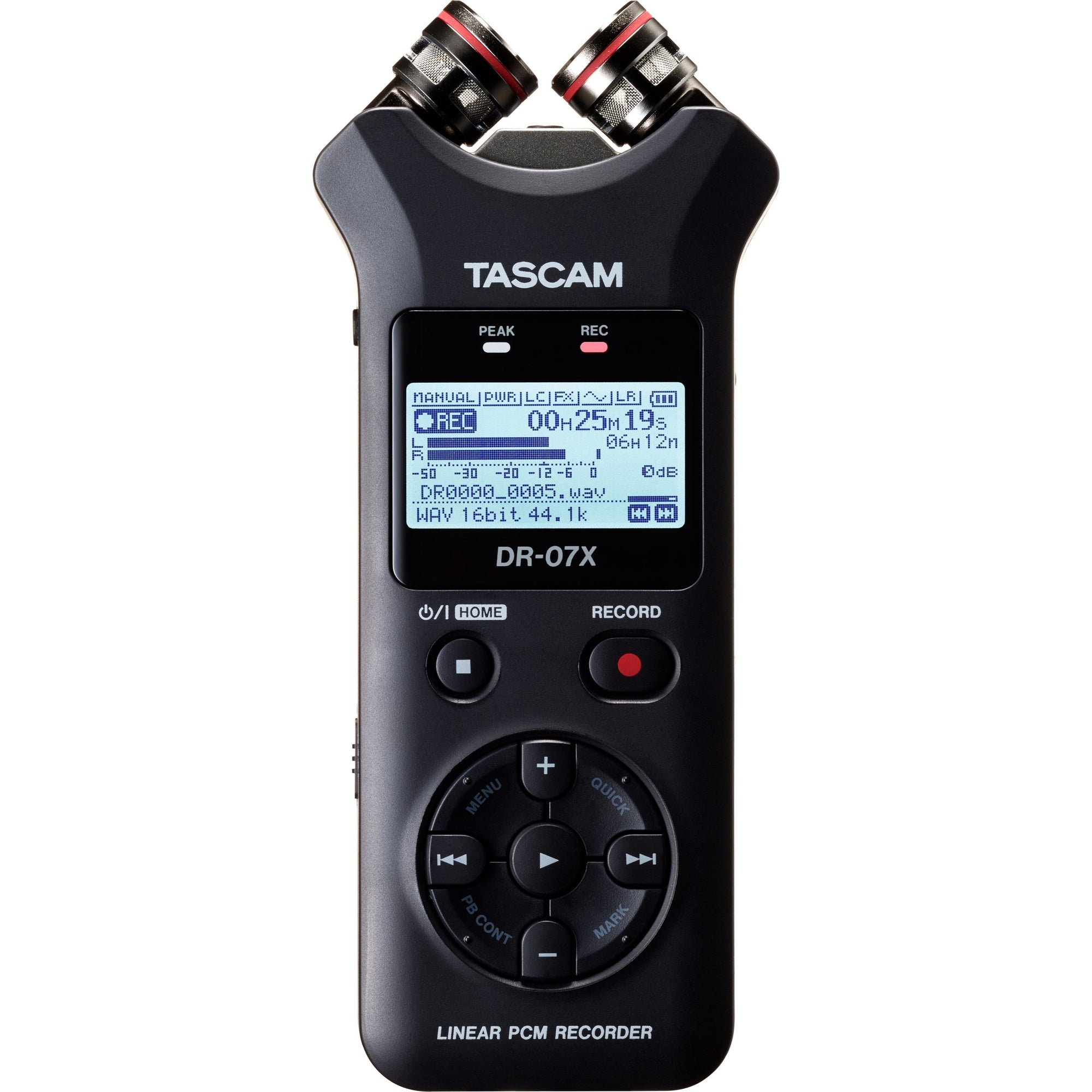 Tascam DR-07X Stereo Handheld Recorder and USB Audio Interface