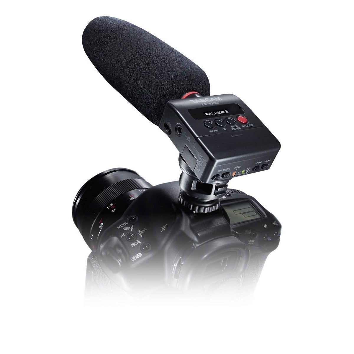 Tascam DR-10SG Shotgun Microphone and Digital Recorder
