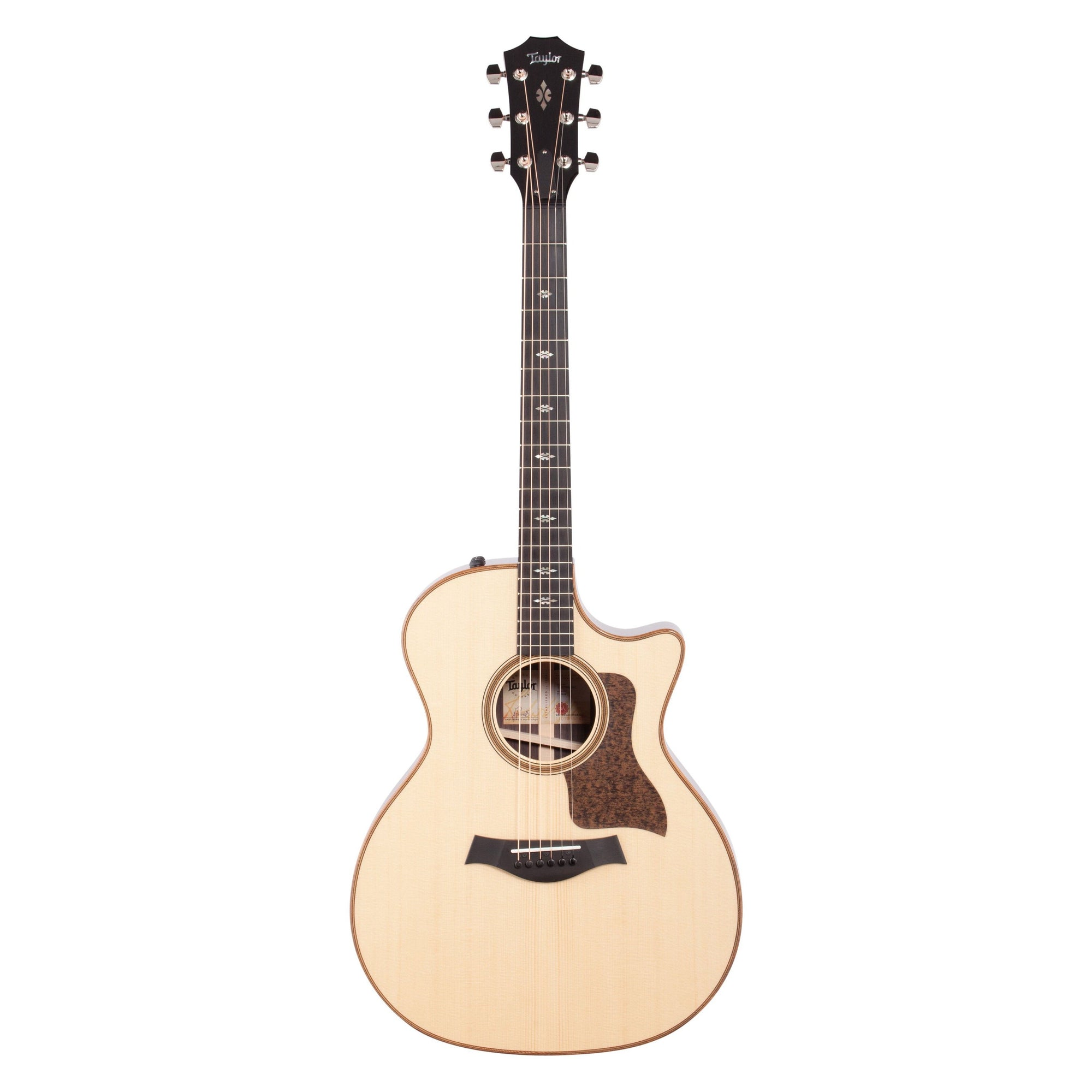 Taylor 714ce V-Class Acoustic-Electric Guitar (with Case), Natural