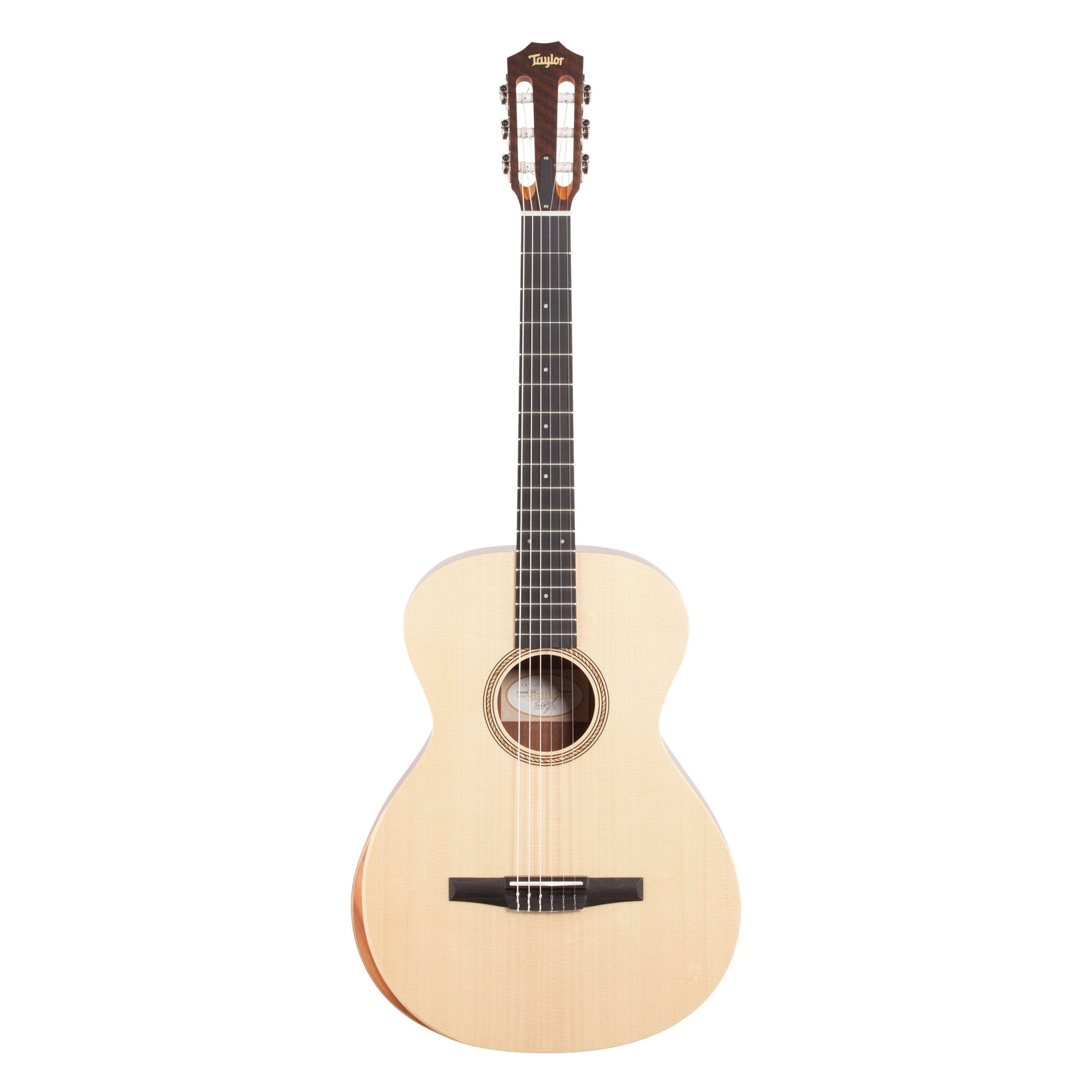 Taylor A12N Academy Series Grand Concert Classical Acoustic Guitar (with Gig Bag)
