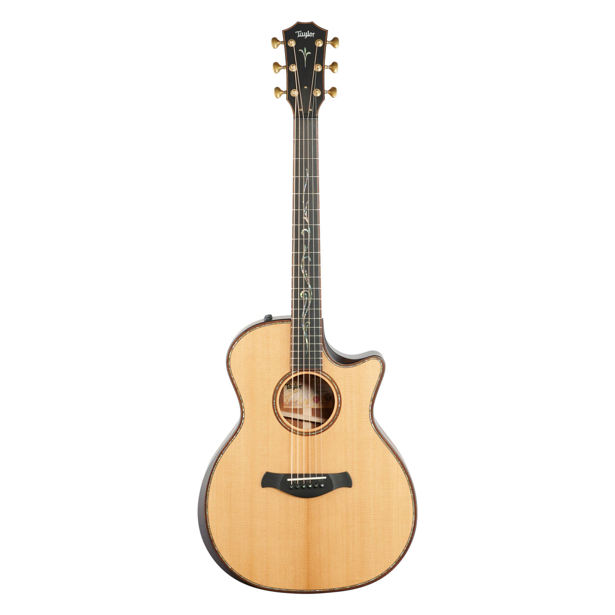 Taylor Builder's Edition K14ceV Grand Auditorium Acoustic-Electric Guitar, Kona Burst