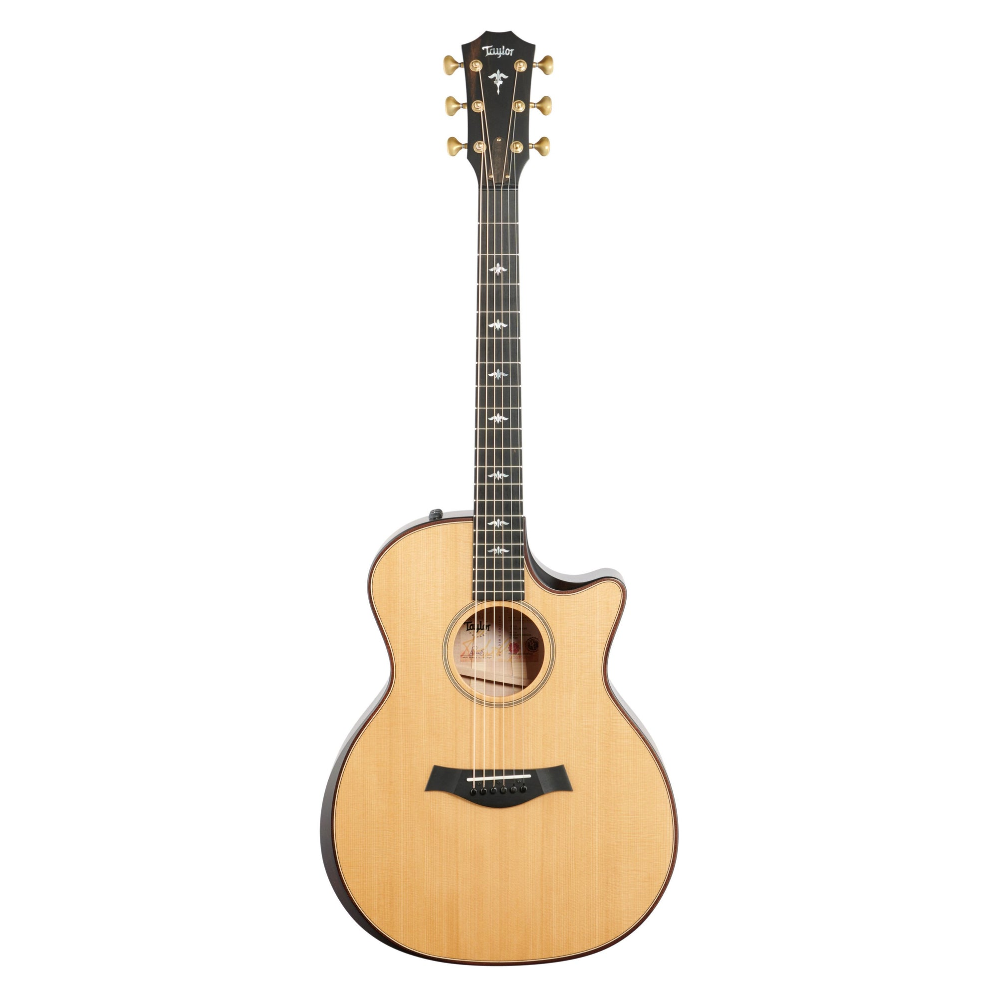 Taylor Builders Edition 614ce Acoustic-Electric Guitar, Natural